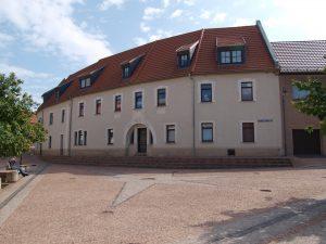 1556 Mehrfamilienhaus in Löbejün - Blick vom Marktplatz