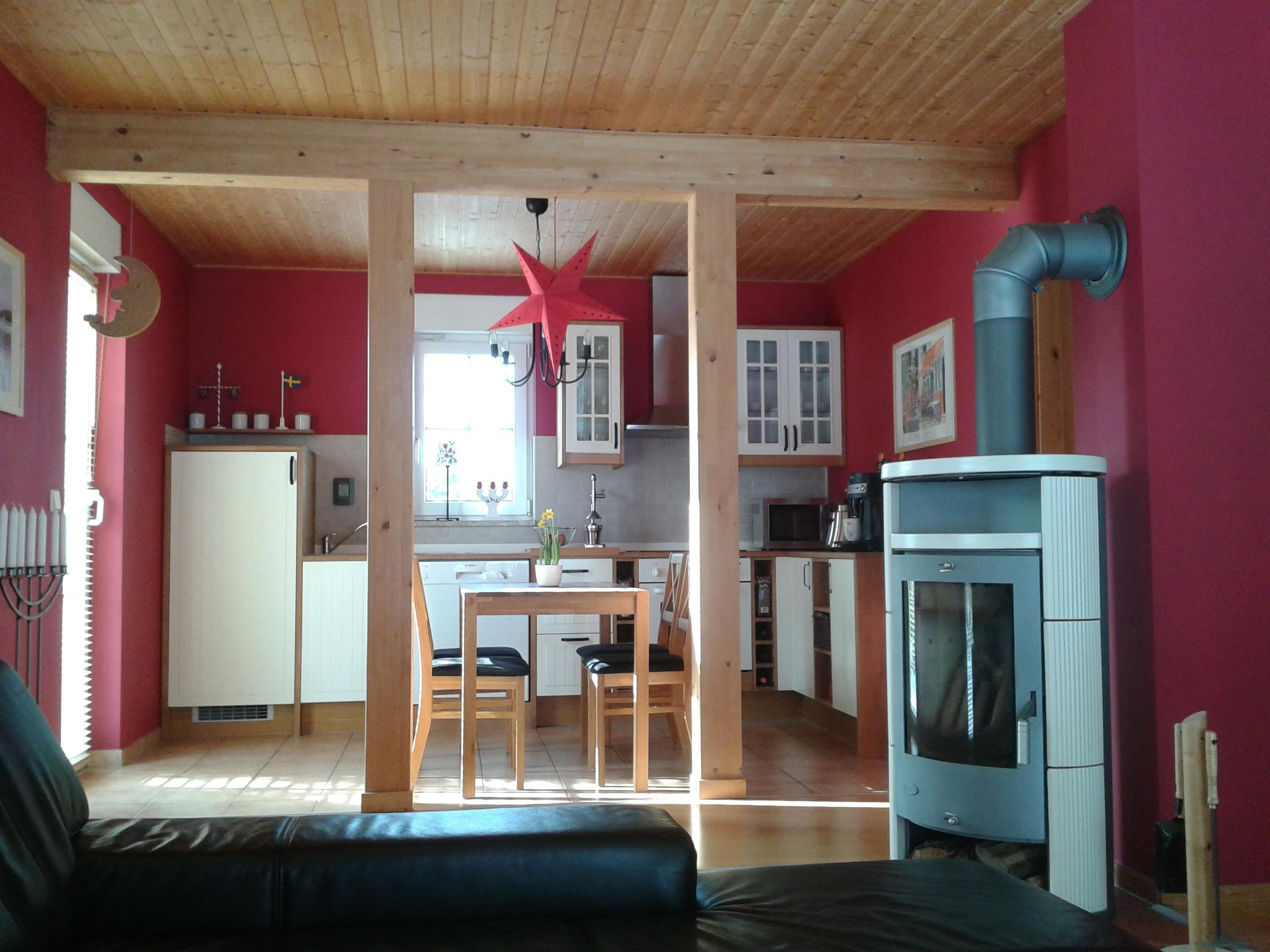 Einfamilienhaus Sennewitz - Blick in den sonnendurchfluteten Wohnbereich