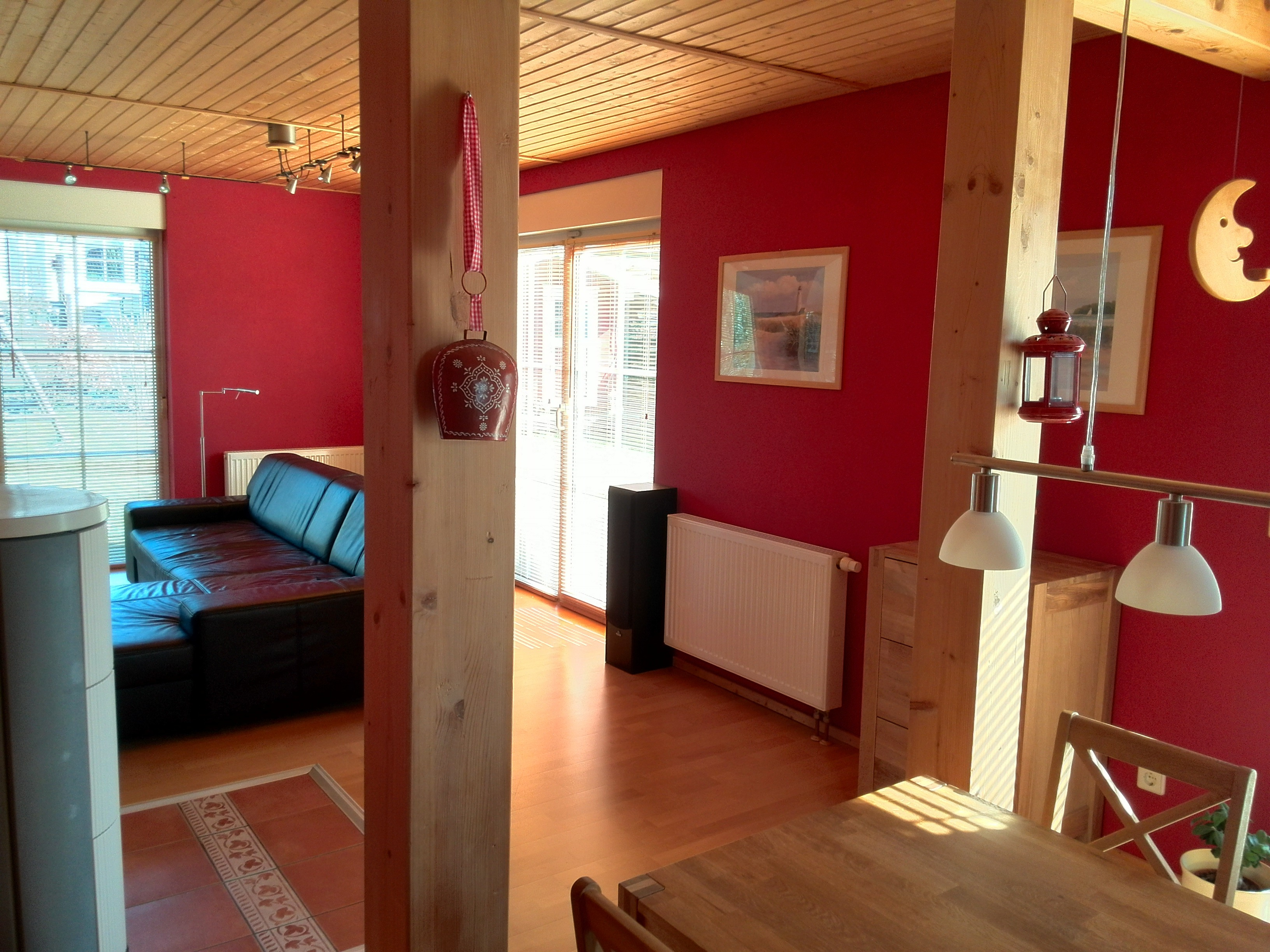 Einfamilienhaus Sennewitz - Blick ins Wohnzimmer