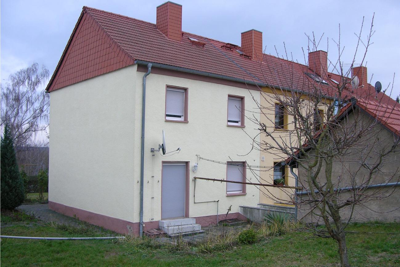 Einfamilienhaus in Eisleben - Ansicht vom Garten
