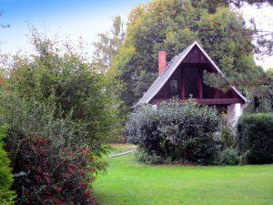 Einfamilienhaus Lieskau Waldheil - Ansicht vom Garten
