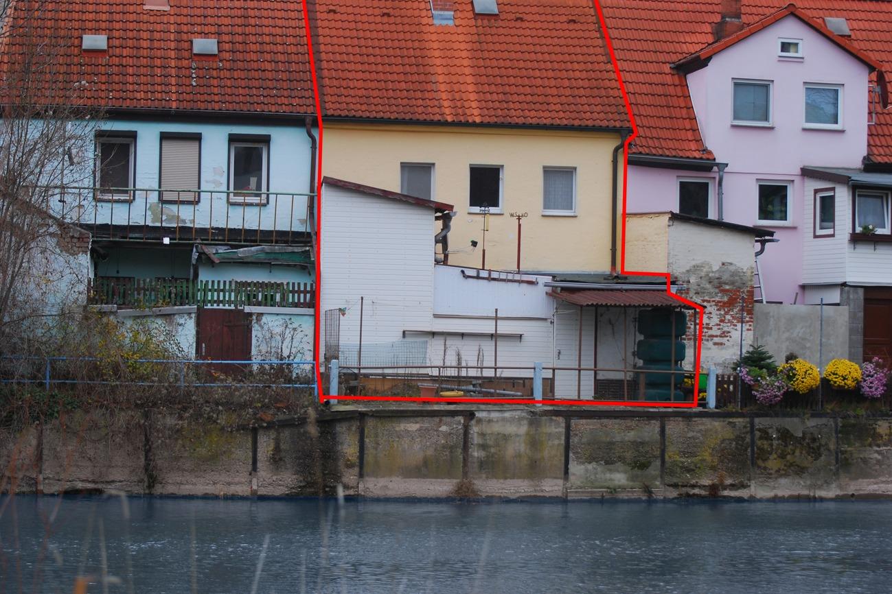 Einfamilienhaus Merseburg - Blick von der Saale