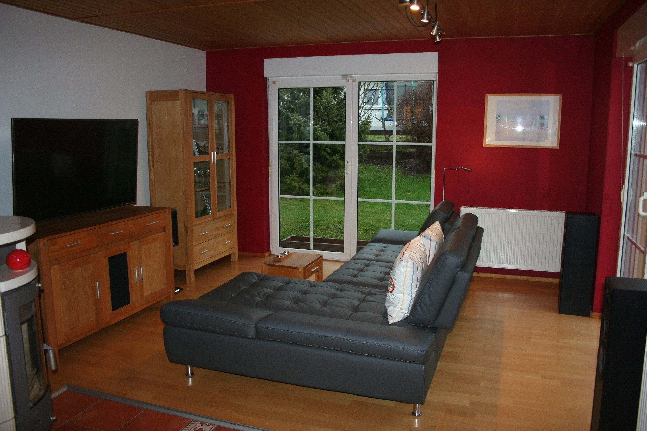 Einfamilienhaus Sennewitz - Wohnzimmer