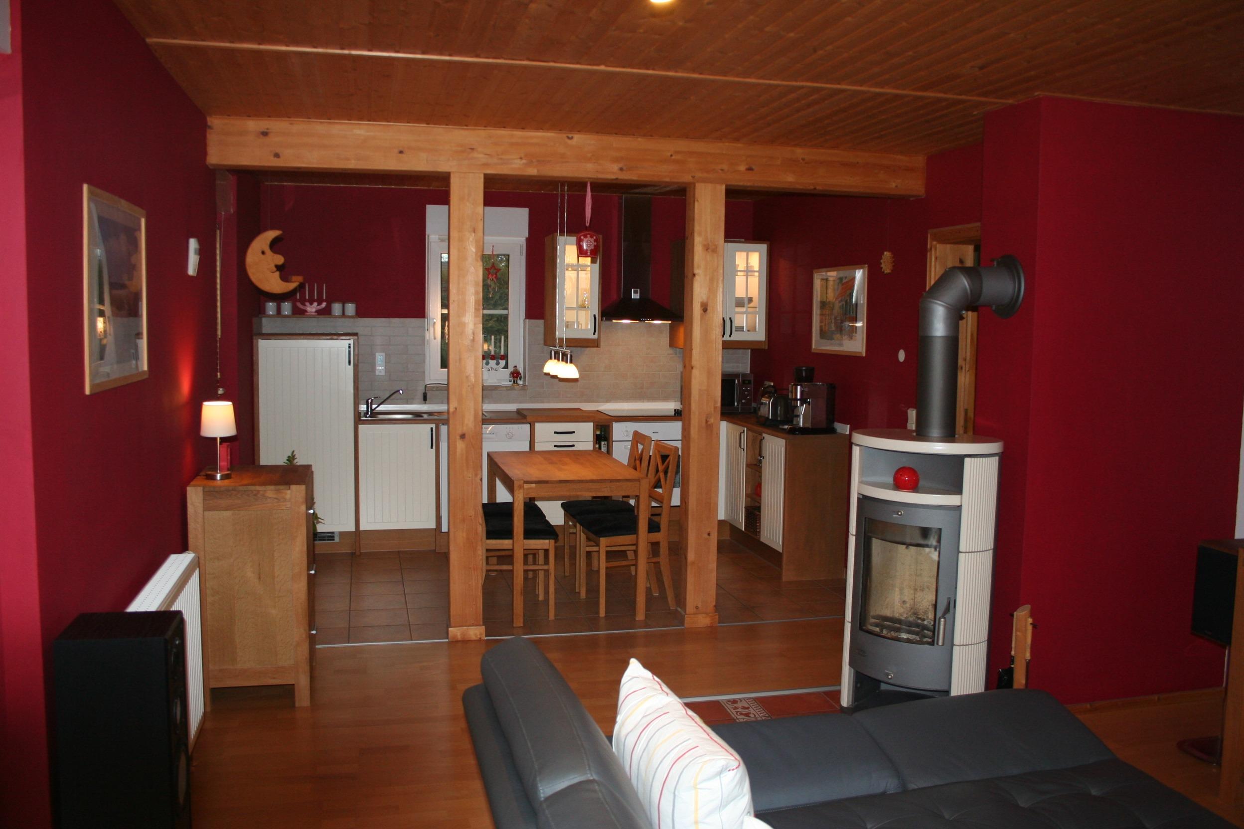 Einfamilienhaus Sennewitz - Blick in den Wohnbereich