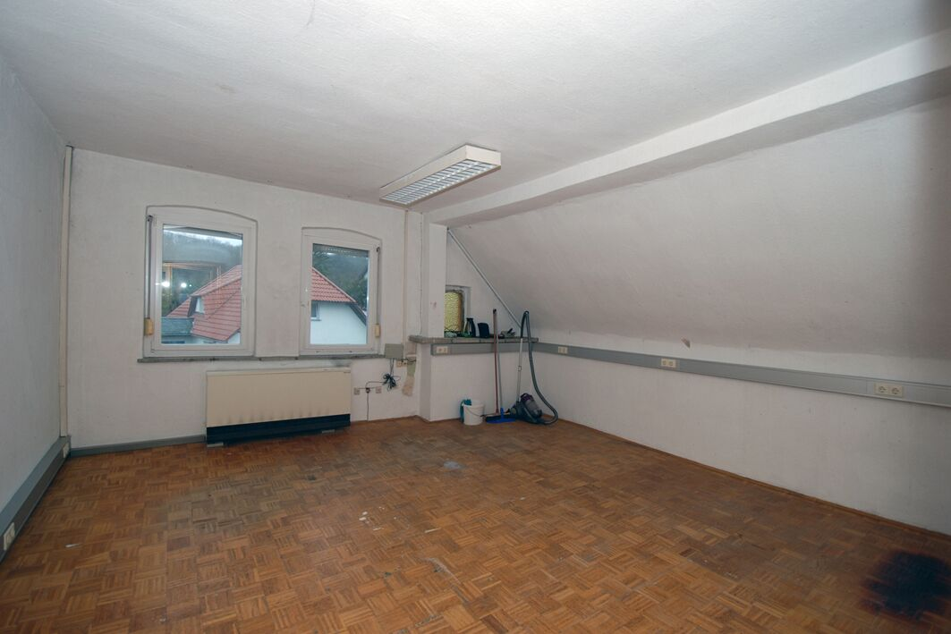 Einfamilienhaus Kloschwitz - Zimmer im Dachgeschoss