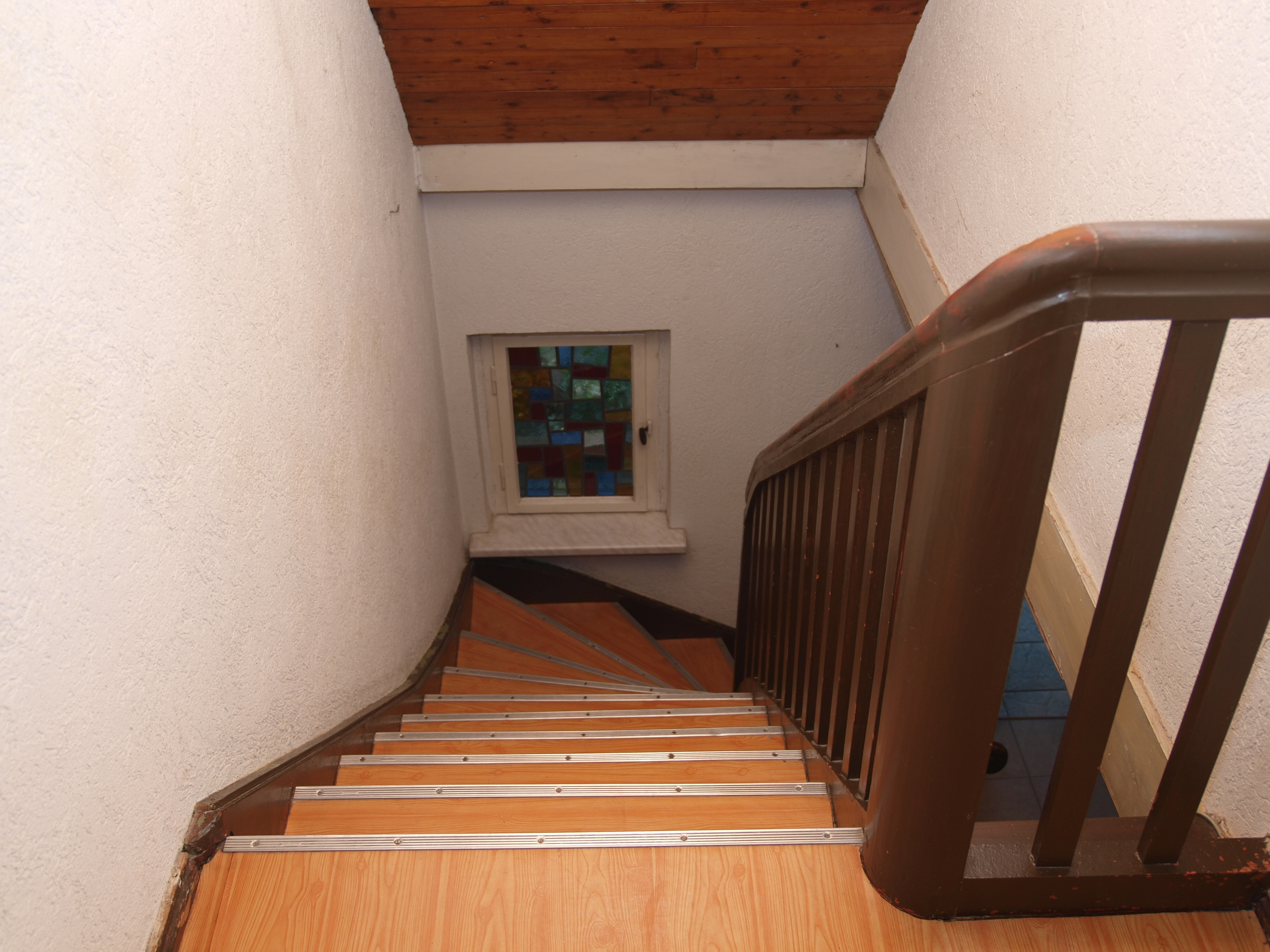 Einfamilienhaus Wörmlitz - solider Treppenaufgang