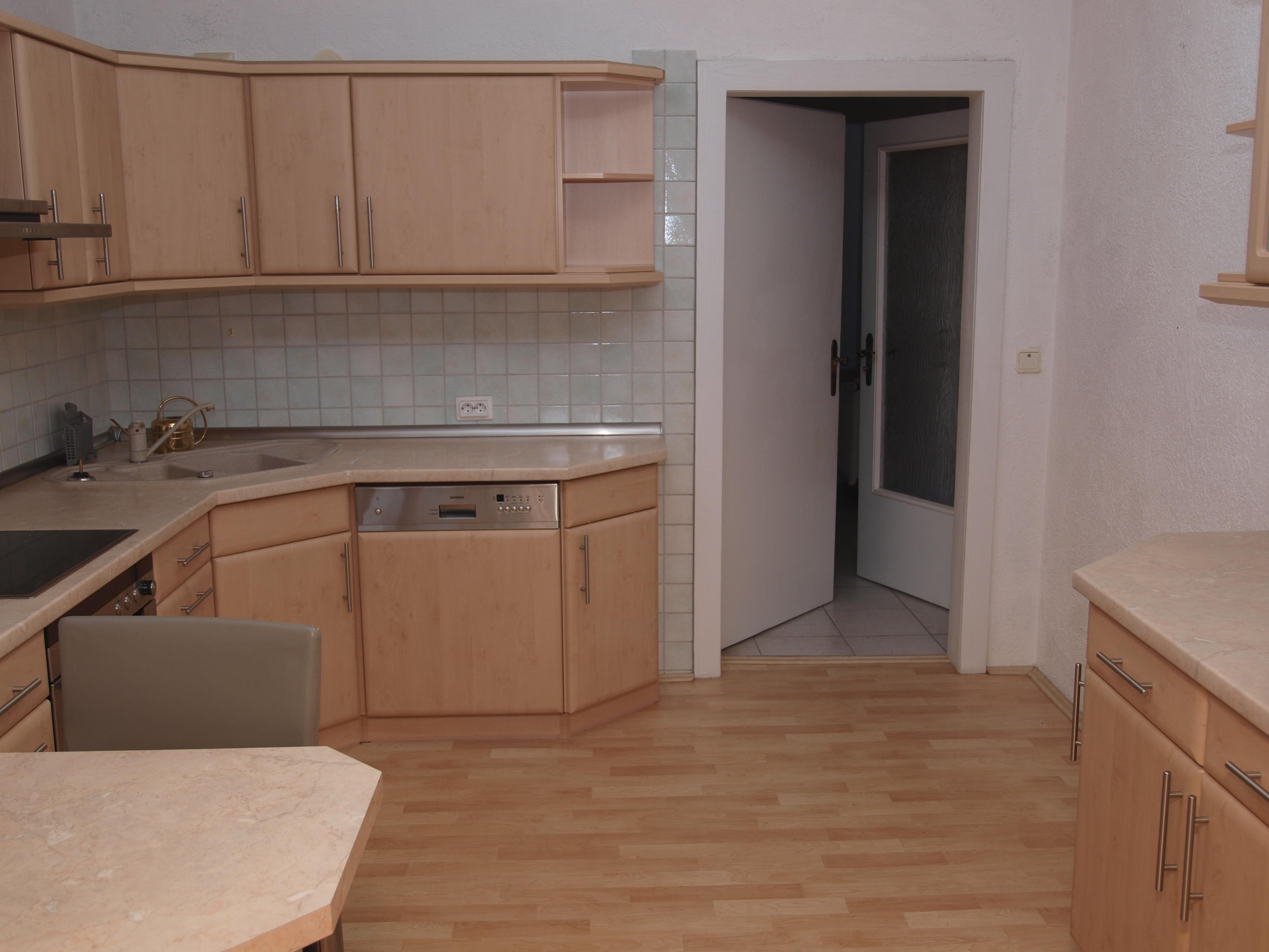 Einfamilienhaus Wörmlitz - gemütliche Wohnküche