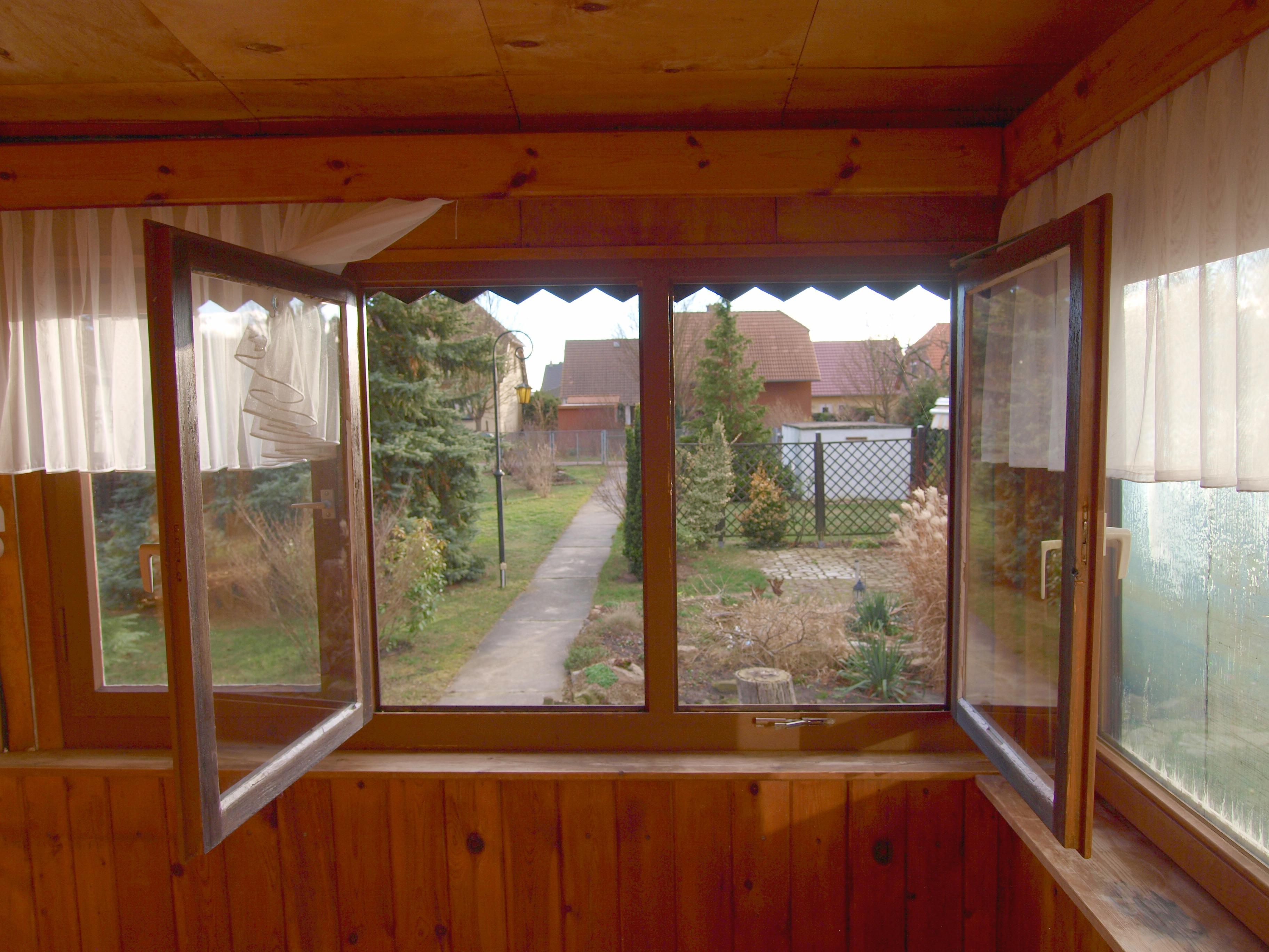 Einfamilienhaus Wörmlitz - Blick auf das  wunderschöne Grundstück
