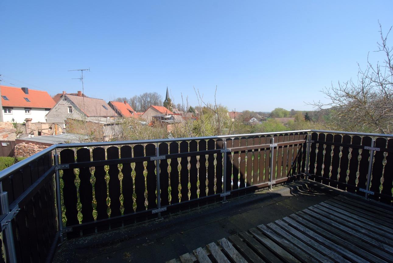 Einfamilienhaus Freist - Blick vom Balkon
