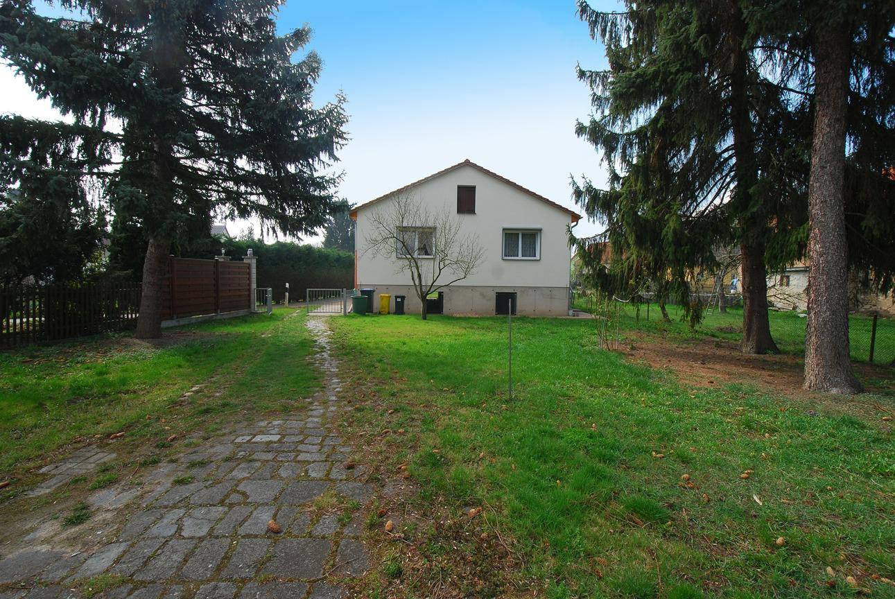 Einfamilienhaus Halle-Radewell - Ansicht vom Garten (1)