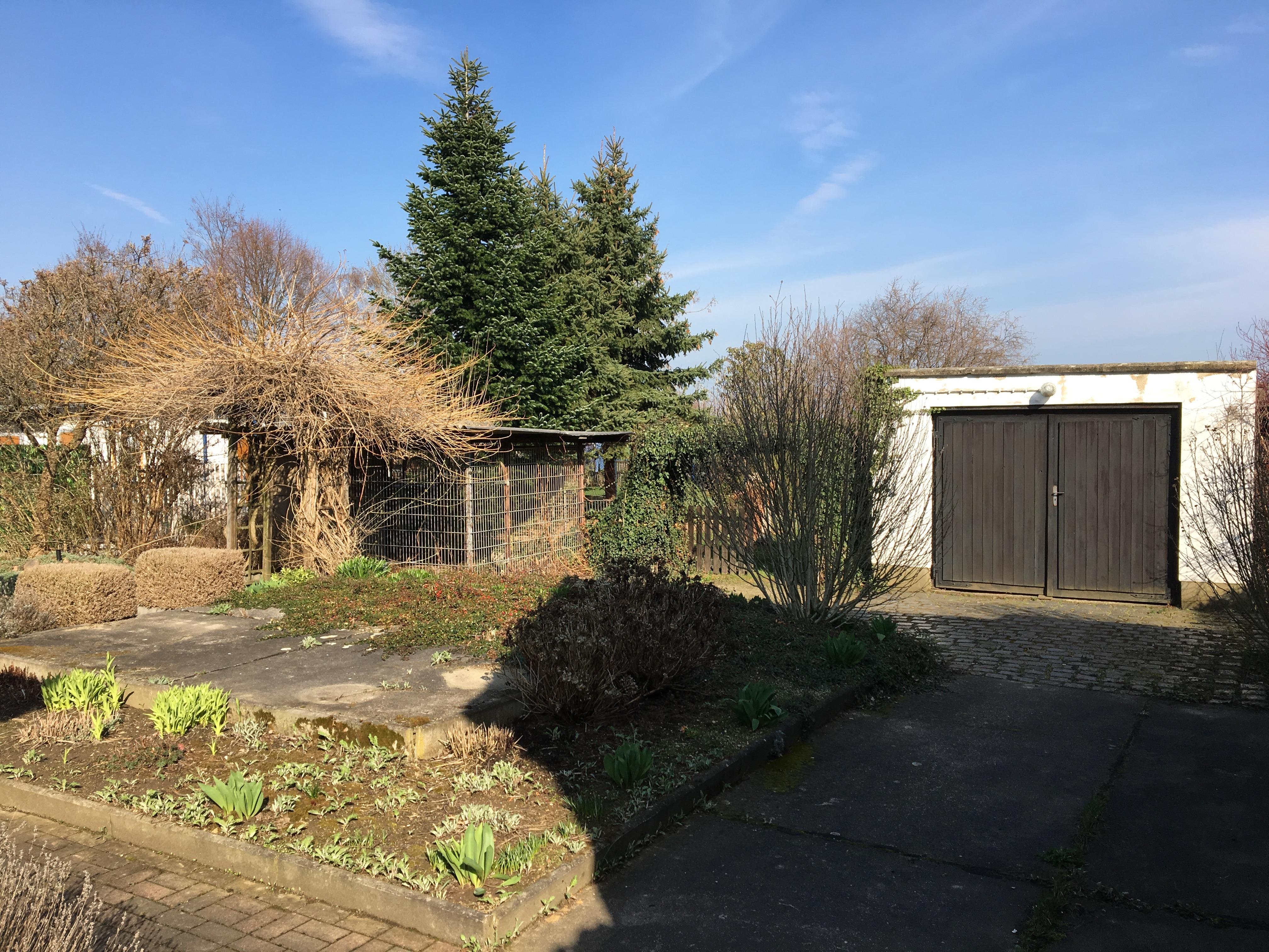Einfamilienhaus Reußen - Gartenblick