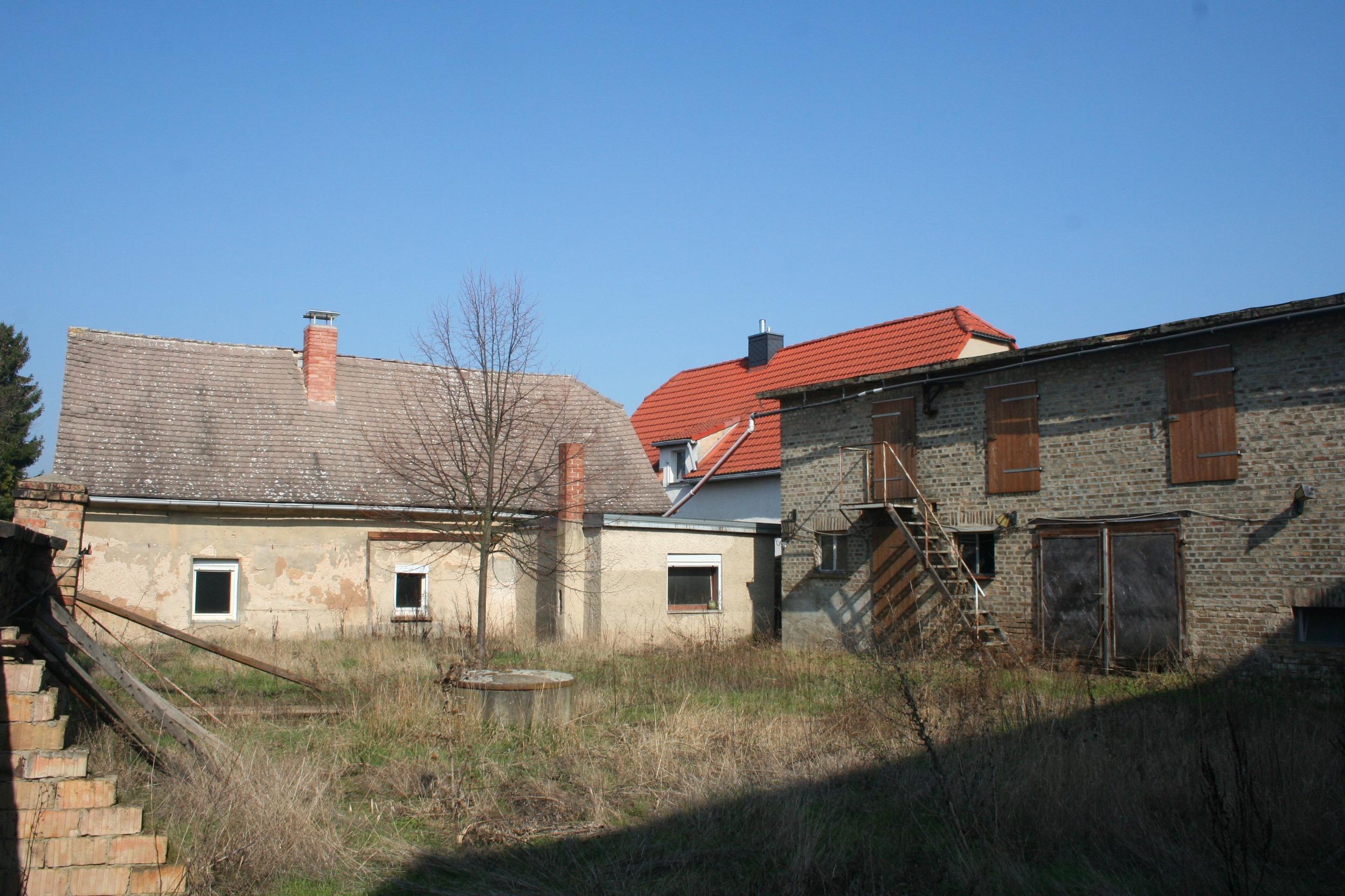 kleiner Bauernhof in Kockwitz - Hofansicht