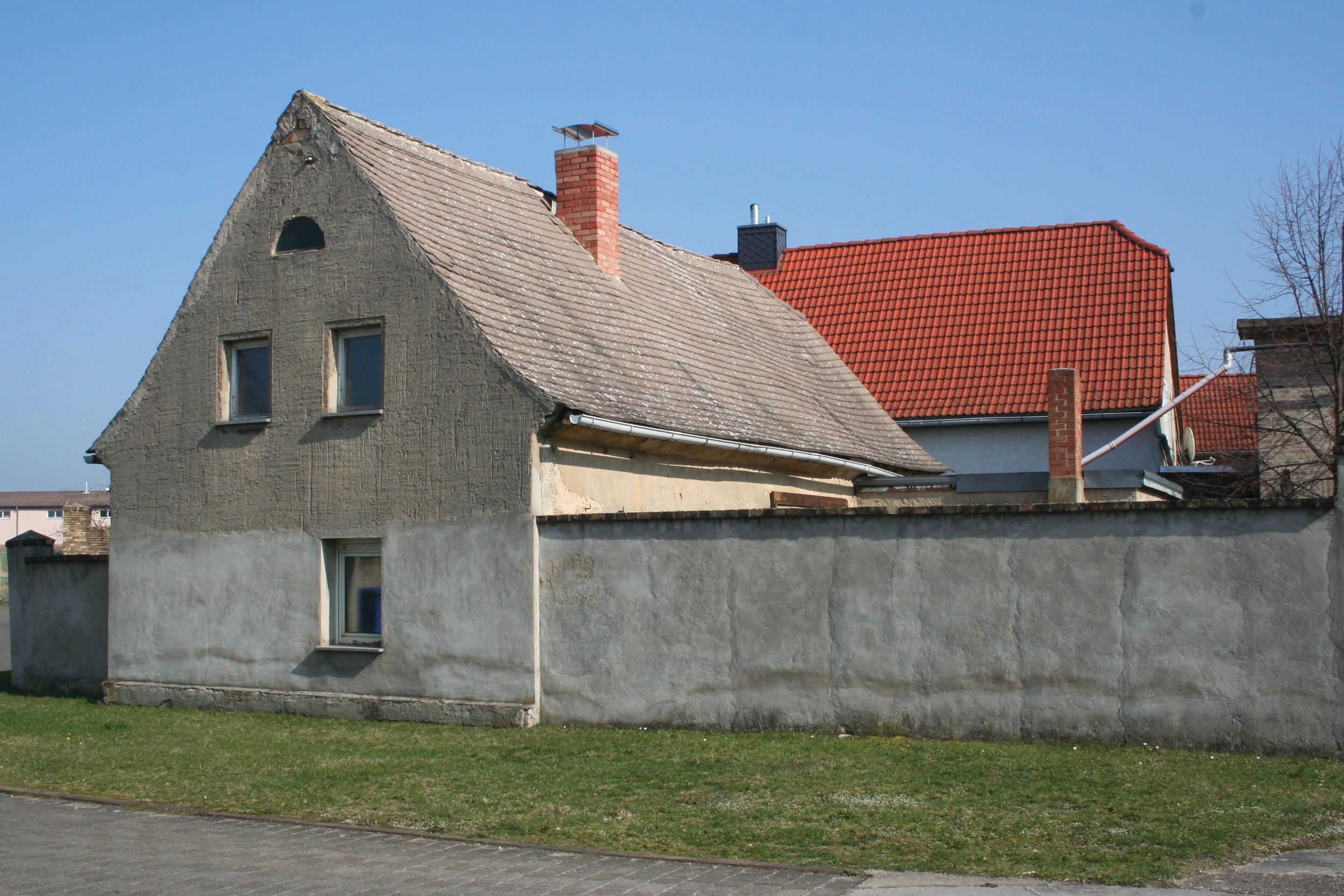 kleiner Bauernhof in Kockwitz, Straßenansicht
