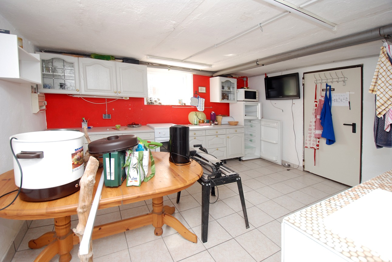 Einfamilienhaus Freist - Sommerküche im Keller