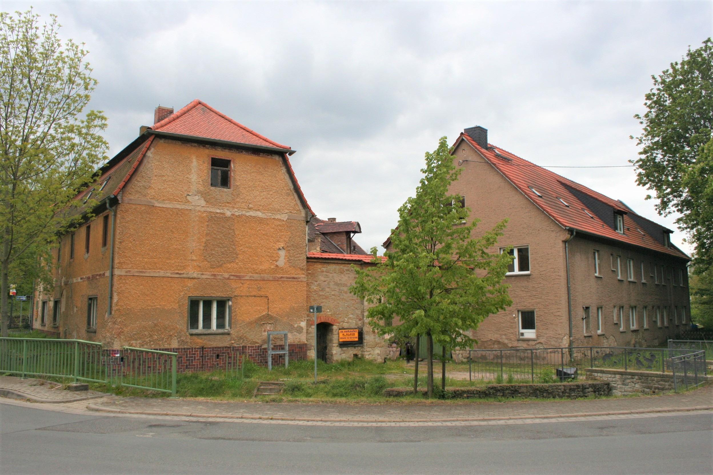 Gutshof Fienstedt Gebäudekomplex Straßenansicht