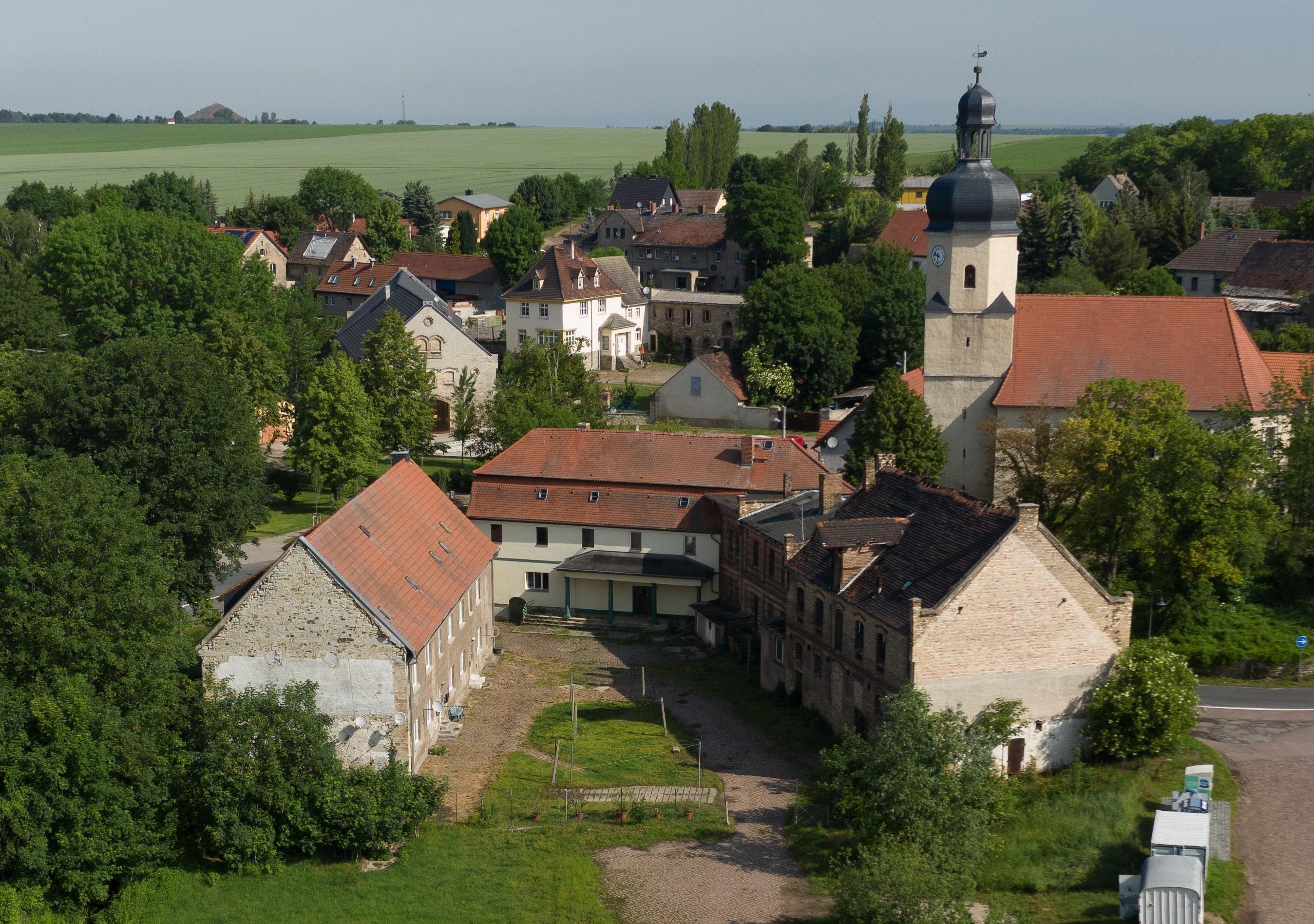 Gutshof Fienstedt - Luftbild 1
