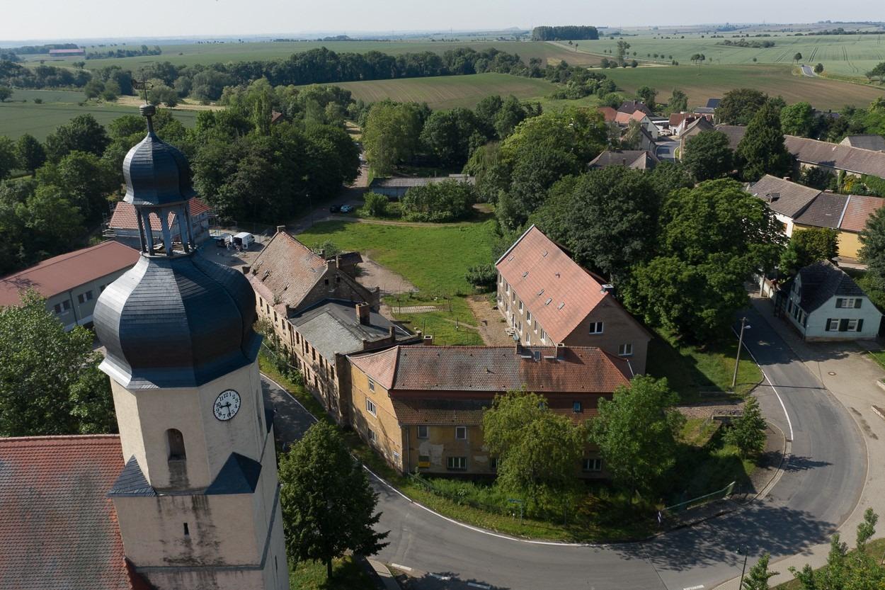 Gutshof Fienstedt - Luftbild 2