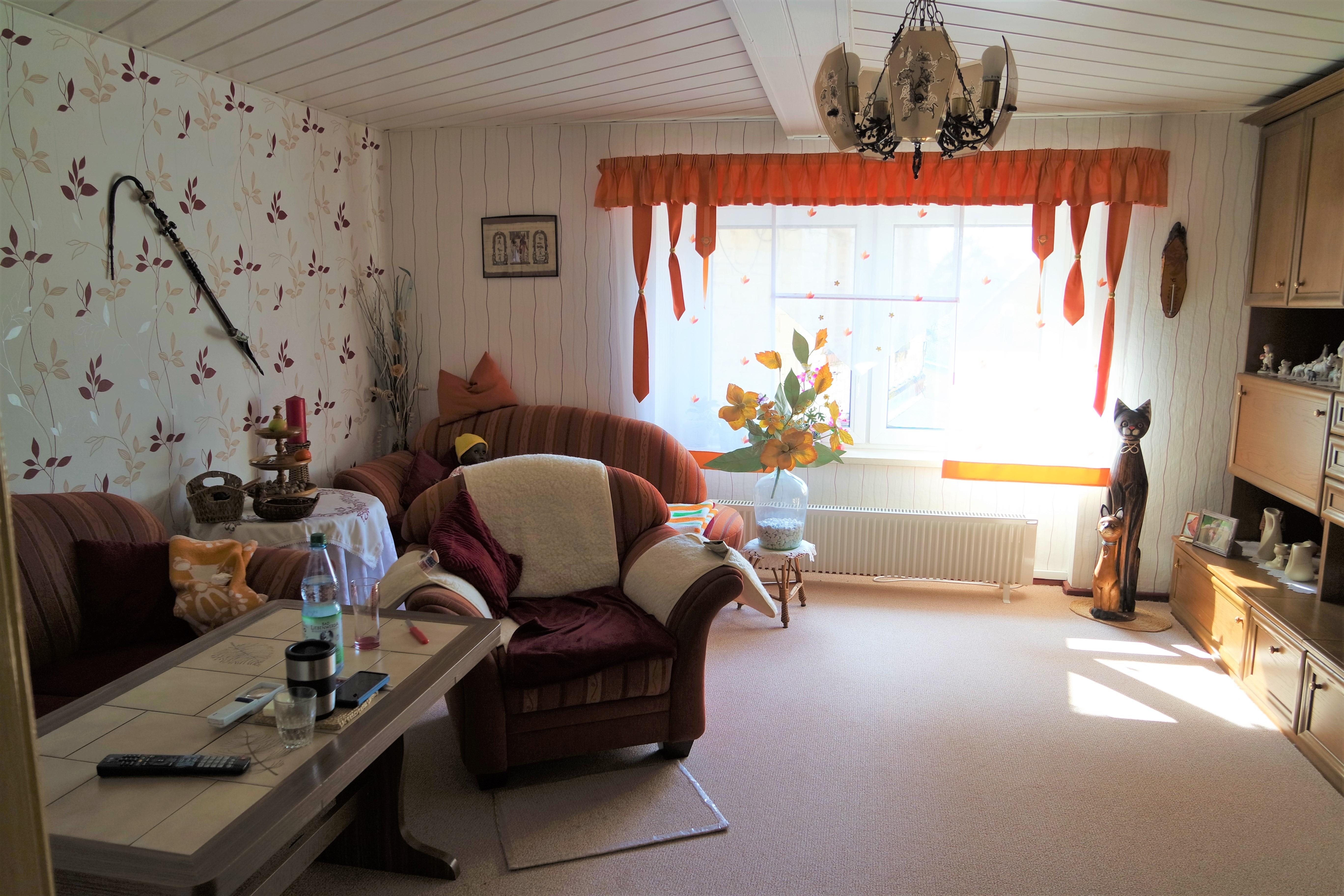Zwei Einfamilienhäuser in Langeneichstädt - Wohnzimmer Haus 26 a