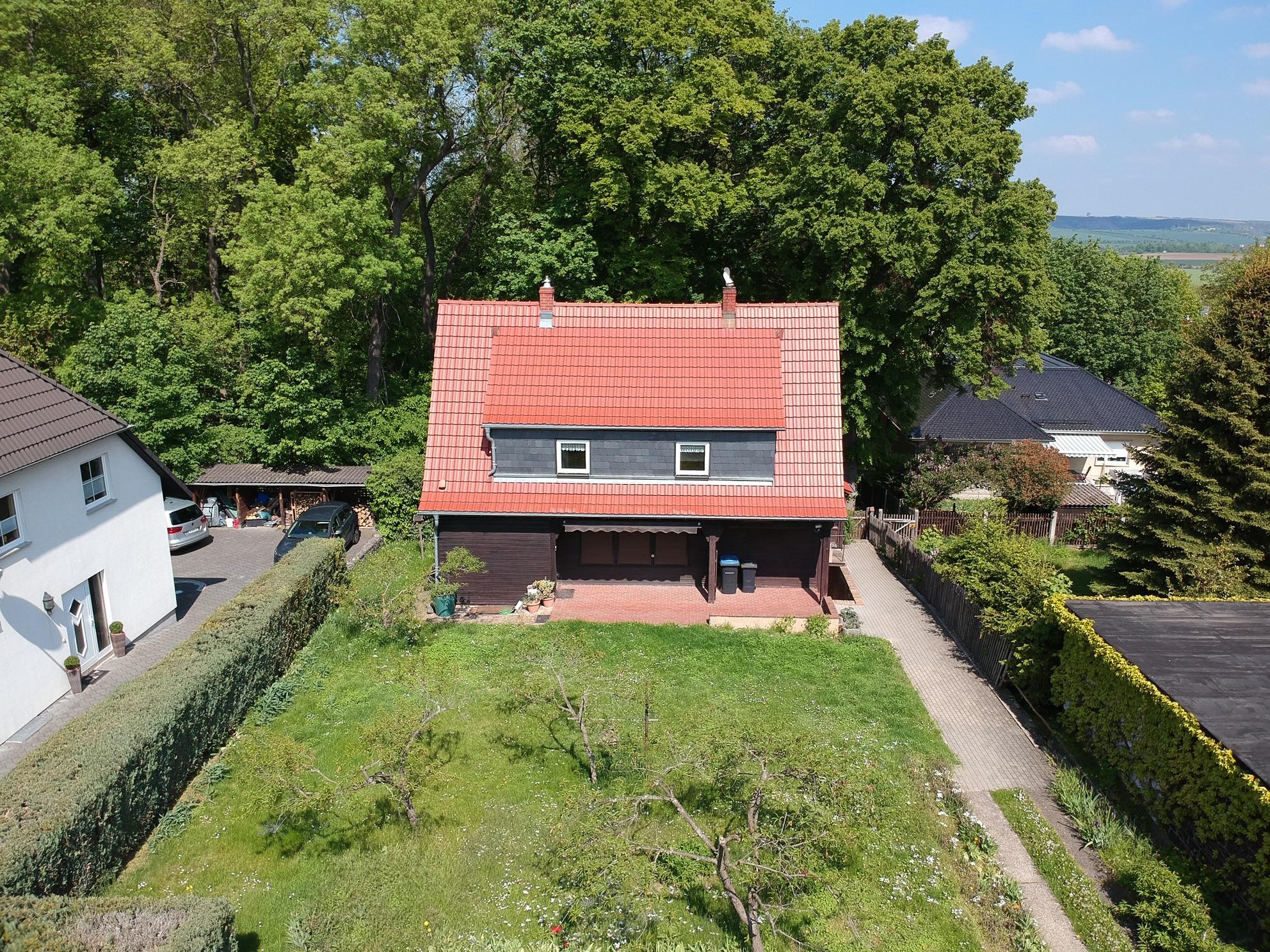Einfamilienhaus Lutherstadt Eisleben - Luftbild