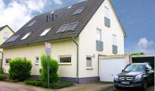 Einfamilienhaus zur Miete in Halle - Straßenansicht