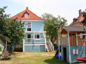 Einfamilienhaus Halle - Gartenansicht