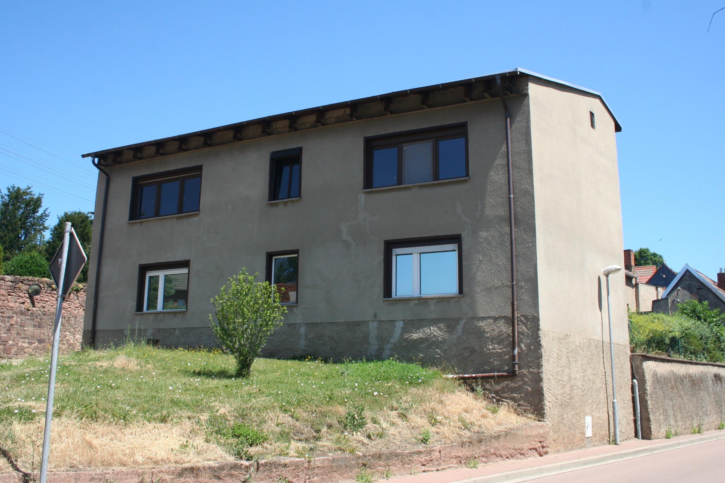 Einfamilienhaus Krosigk - Straßenansicht