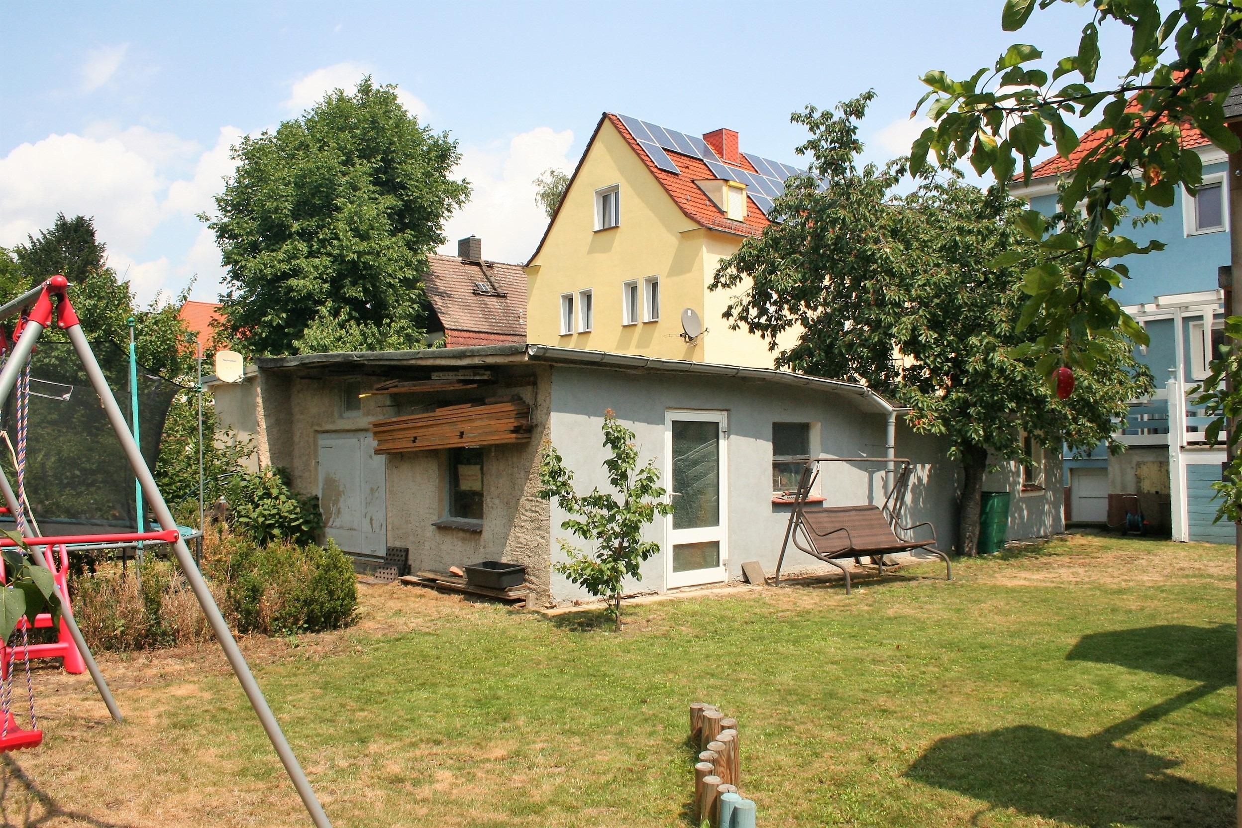 Einfamilienhaus Halle - Garage