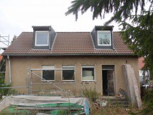 Einfamilienhaus Stichelsdorf - Gartenansicht