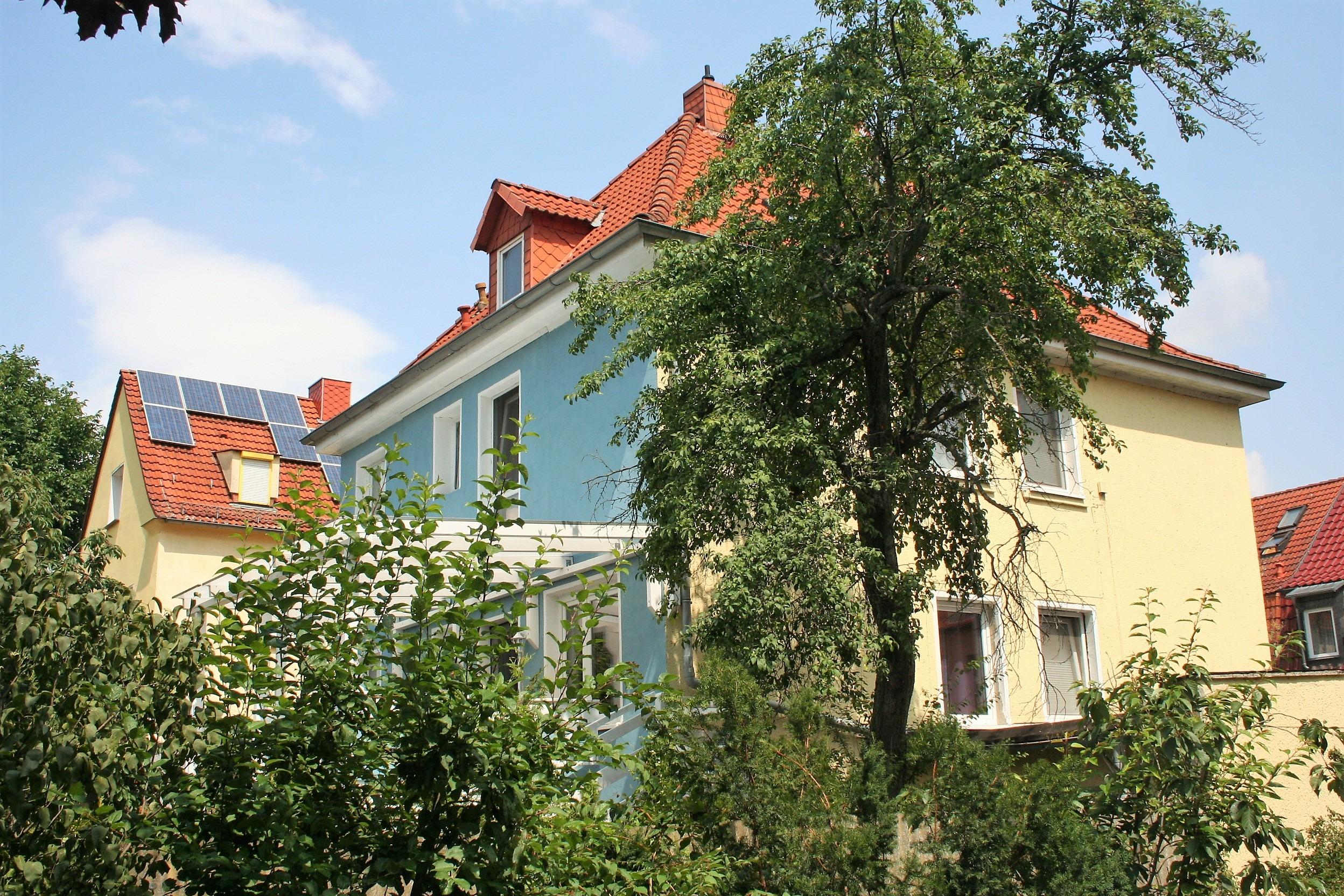 Einfamilienhaus Halle - Seitenansicht