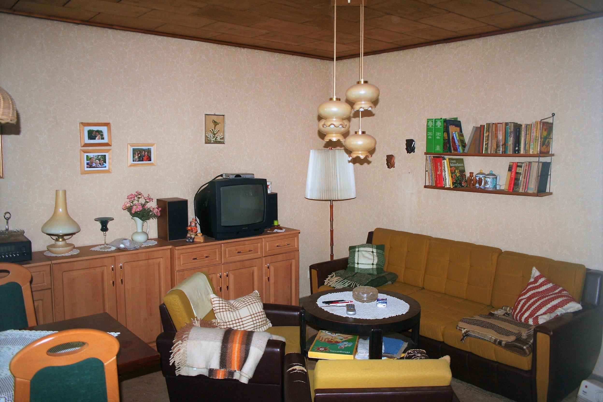 Wochenendgrundstück in Gorenzen - Wohn- und Esszimmer