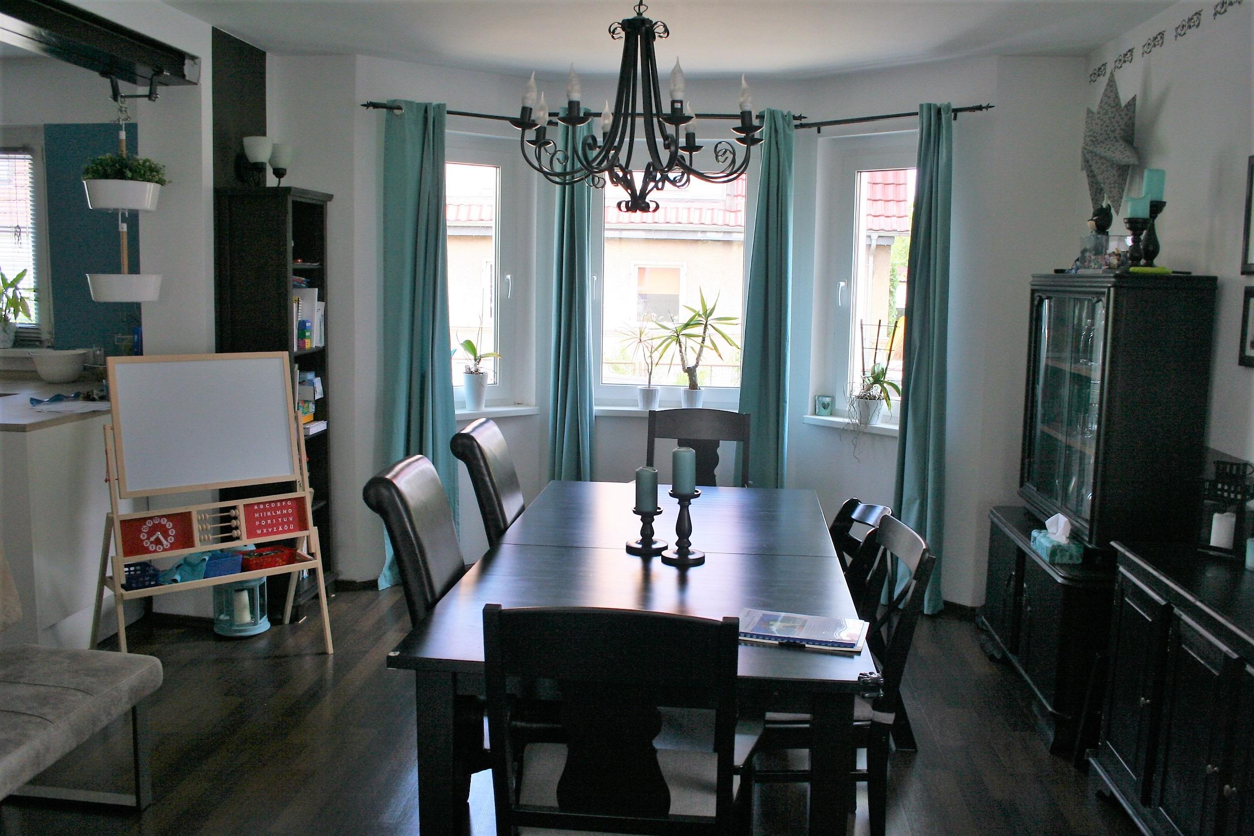 Einfamilienhaus Halle - Wohnzimmer/Essecke