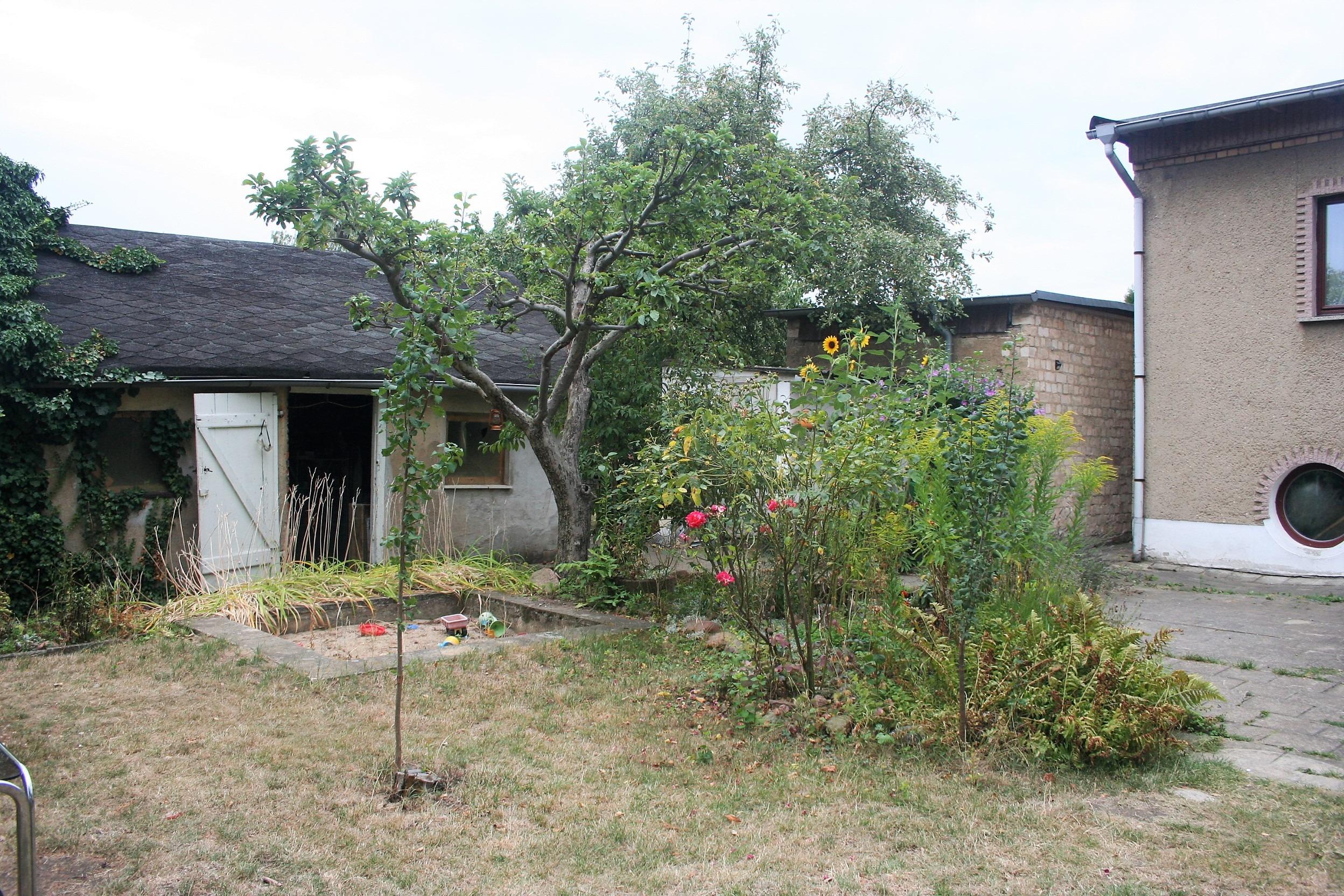 Einfamilienhaus Frohe Zukunft - Gartenansicht