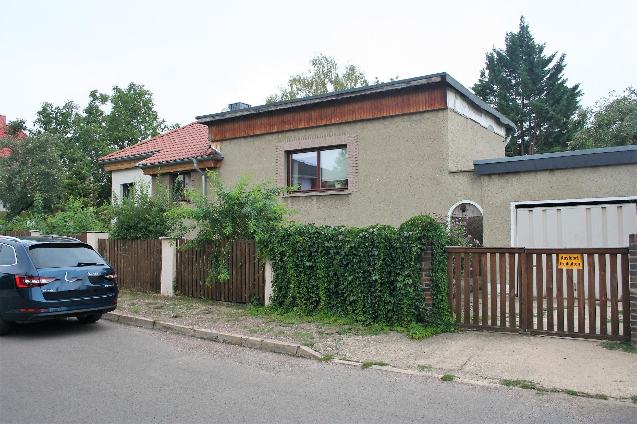 Einfamilienhaus Frohe Zukunft - Straßenansicht