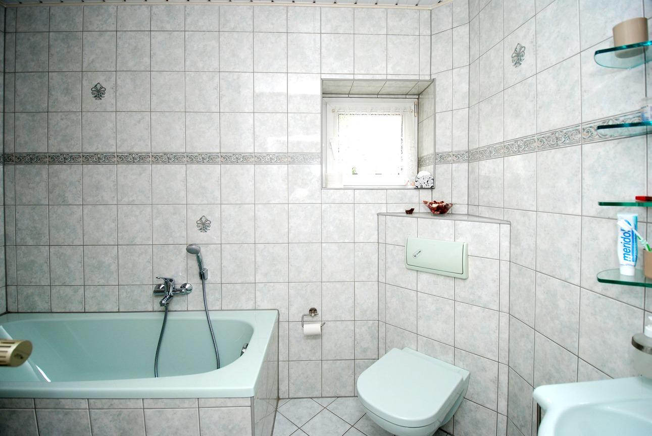 Einfamilienhaus Leuna - Bad im EG Detail
