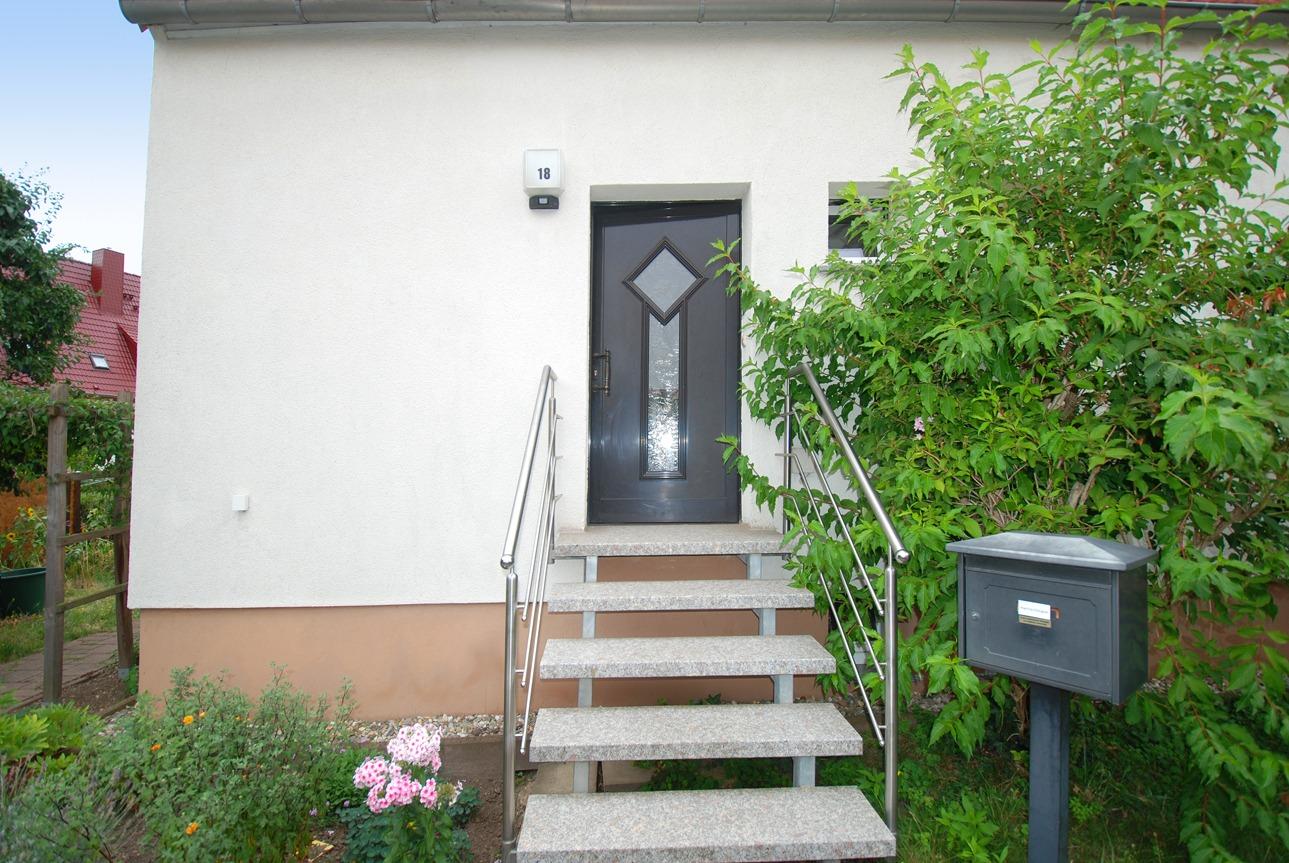 Einfamilienhaus Leuna - Hauseingang