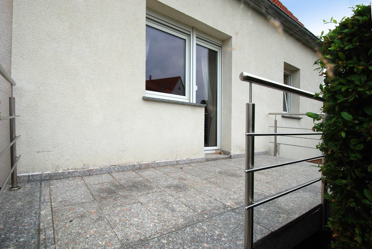 Einfamilienhaus Leuna - Terrasse