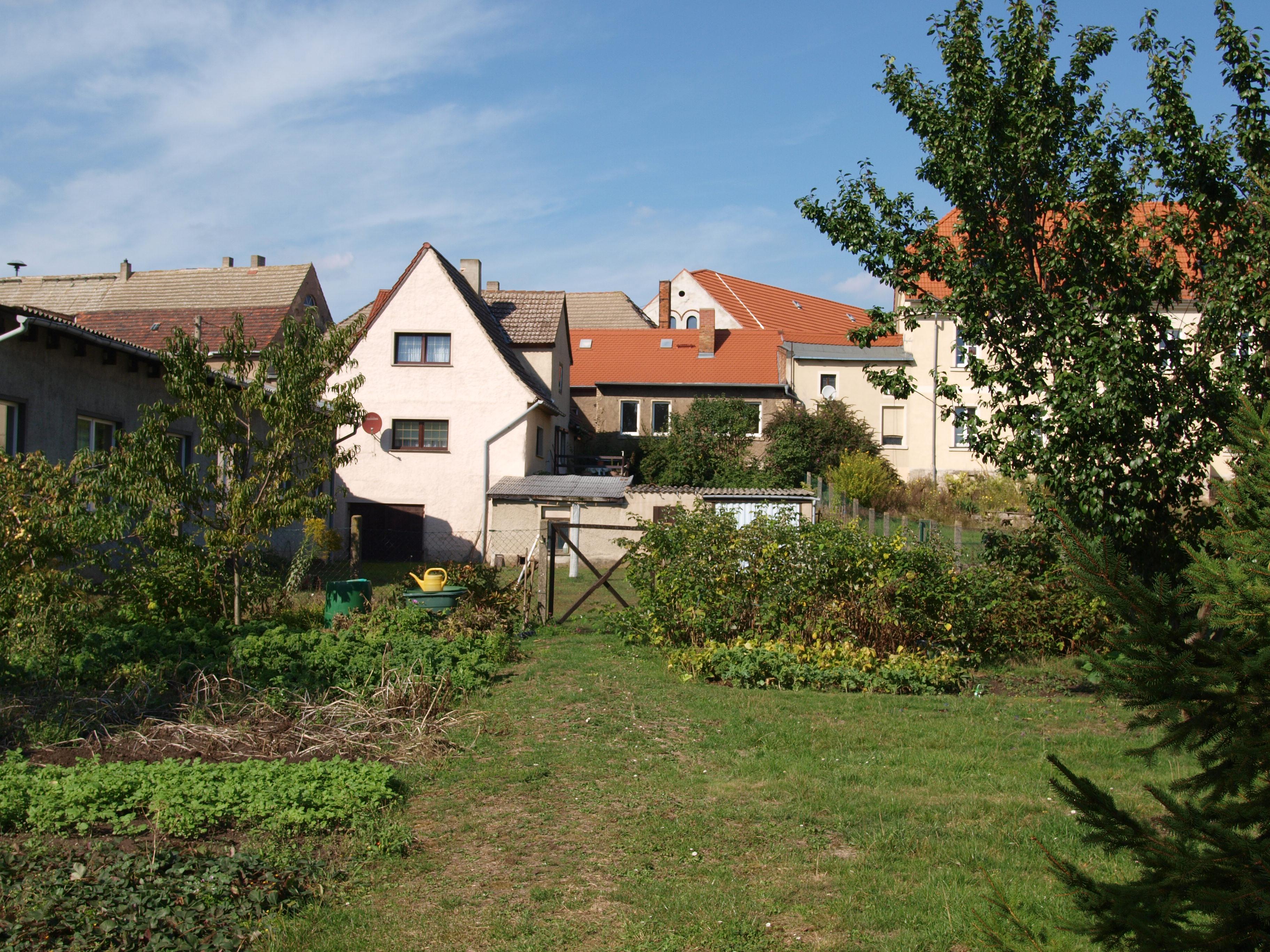 Einfamilienhaus Rottelsdorf - Blick vom Garten