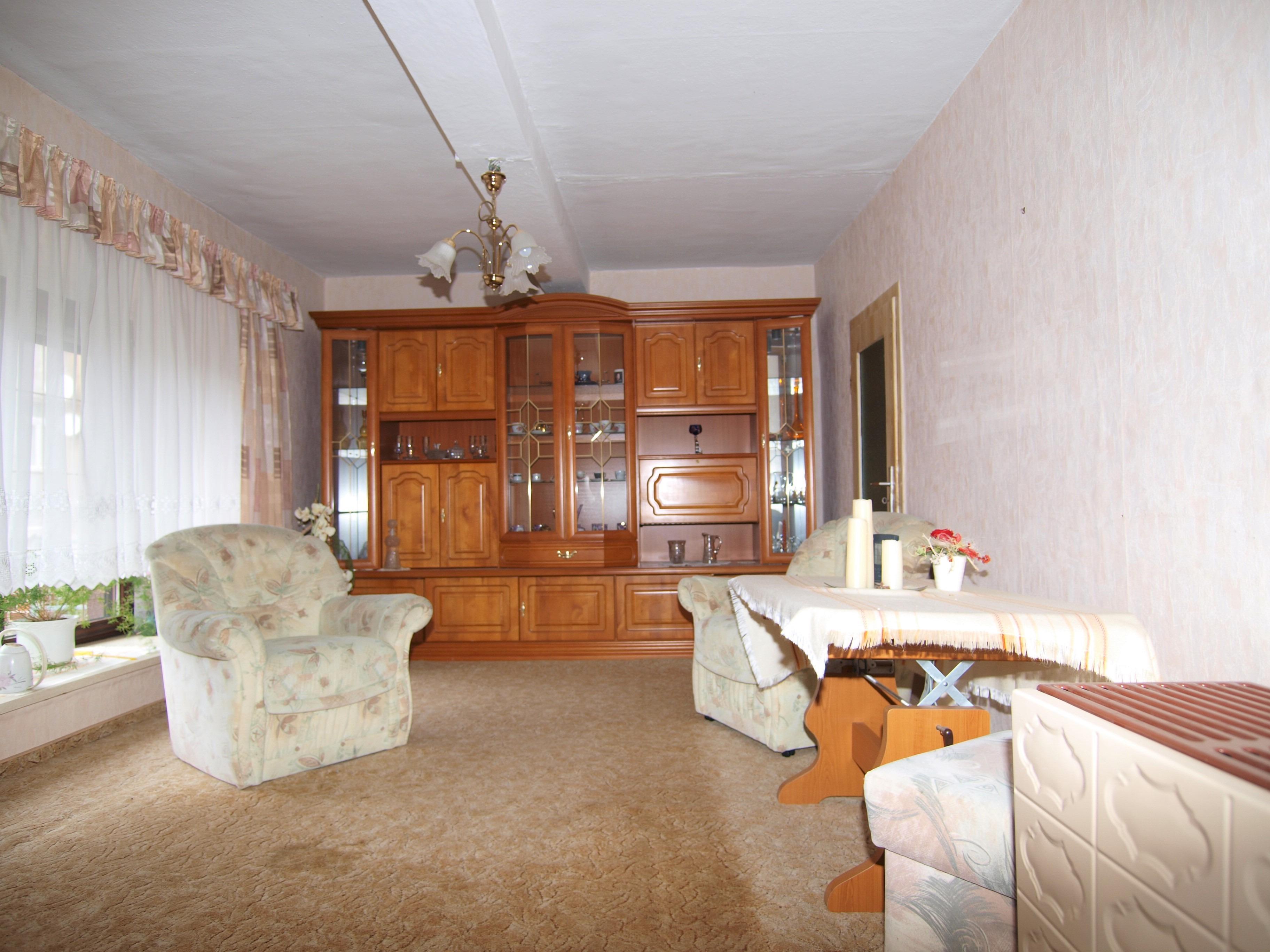 Einfamilienhaus Rottelsdorf - Wohnzimmer im Obergeschoss