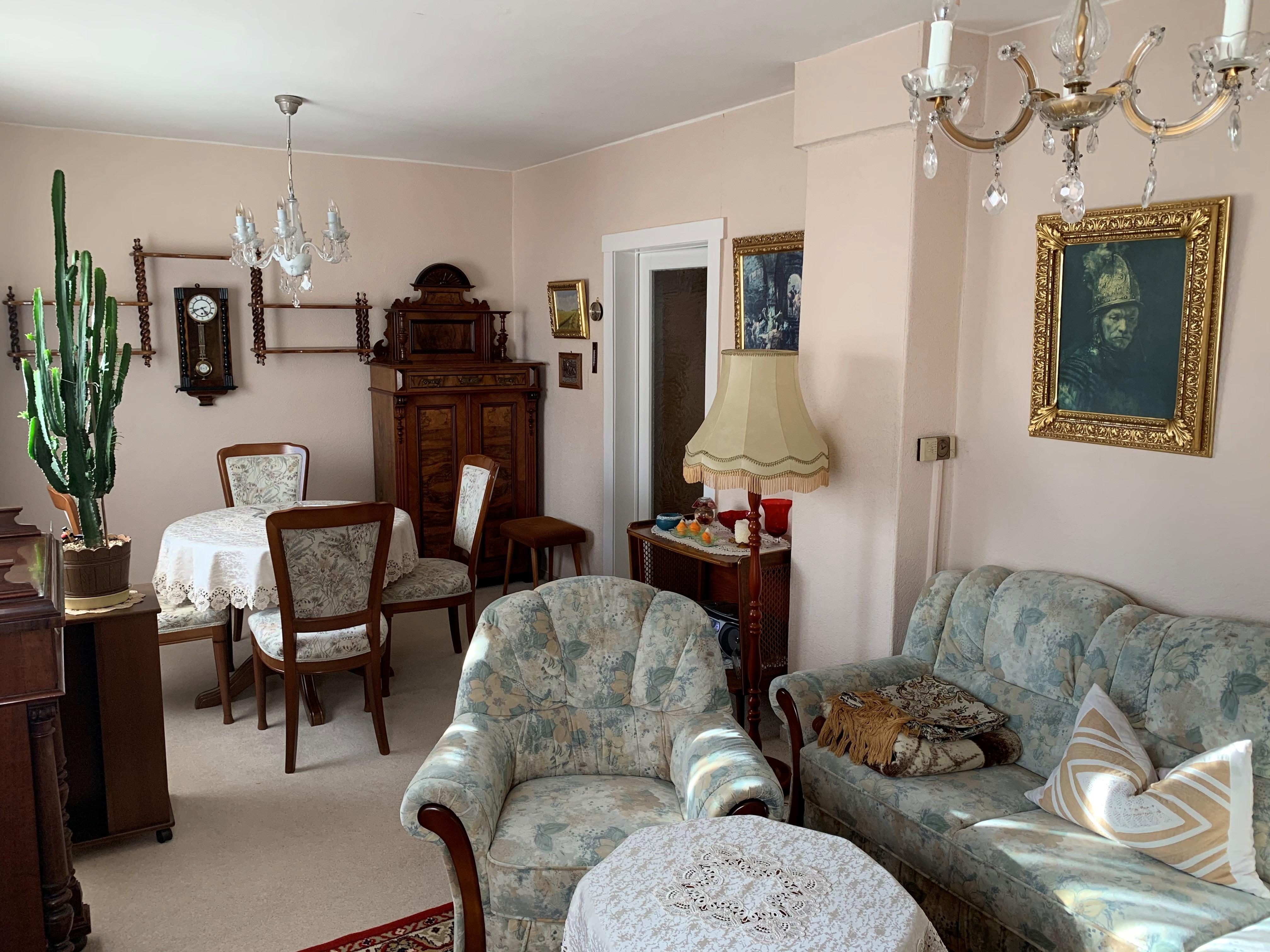 Einfamilienhaus Rosengarten - Wohnzimmer Detailansicht