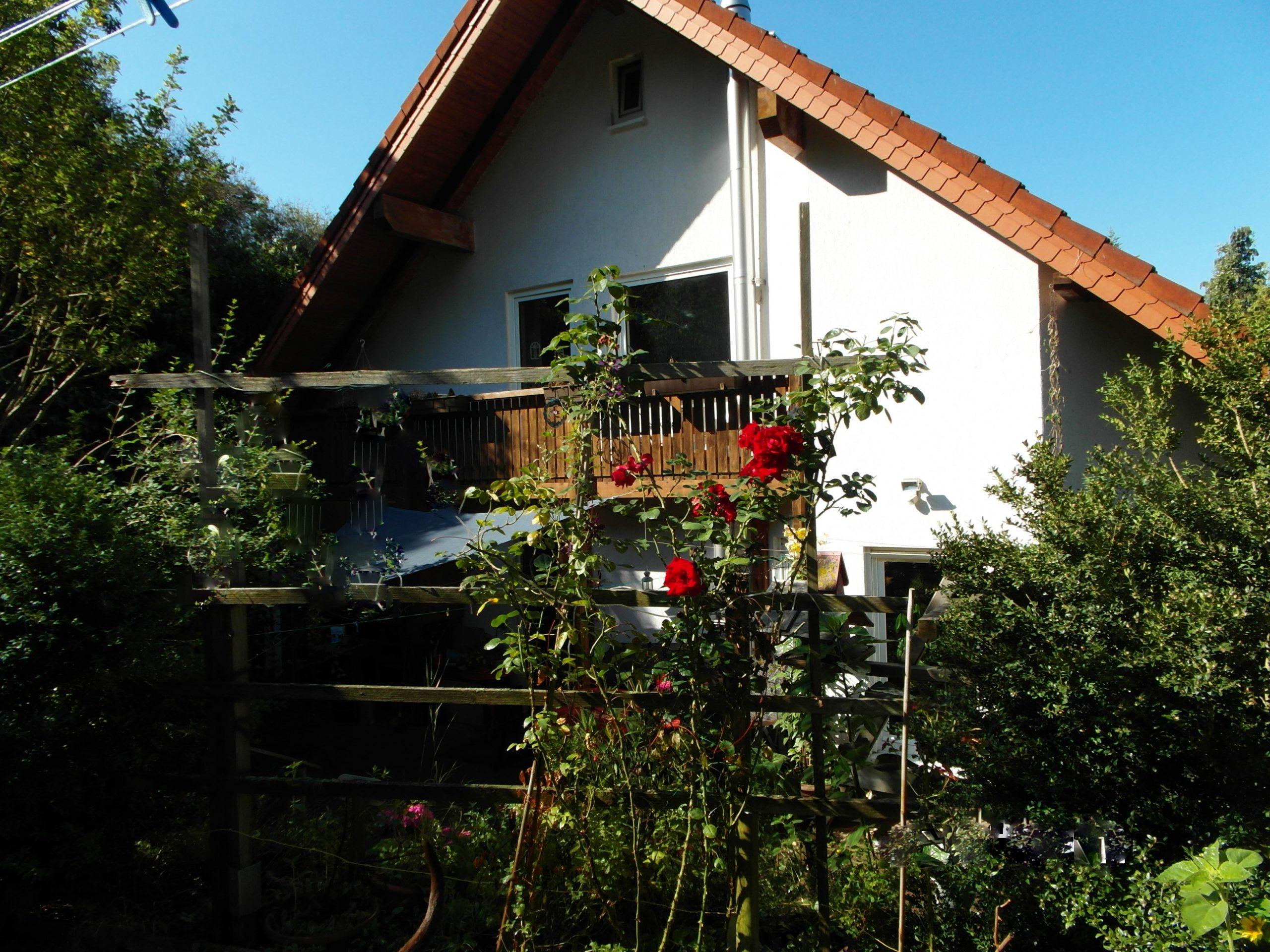 Einfamilienhaus Rothenburg - Gartenblick