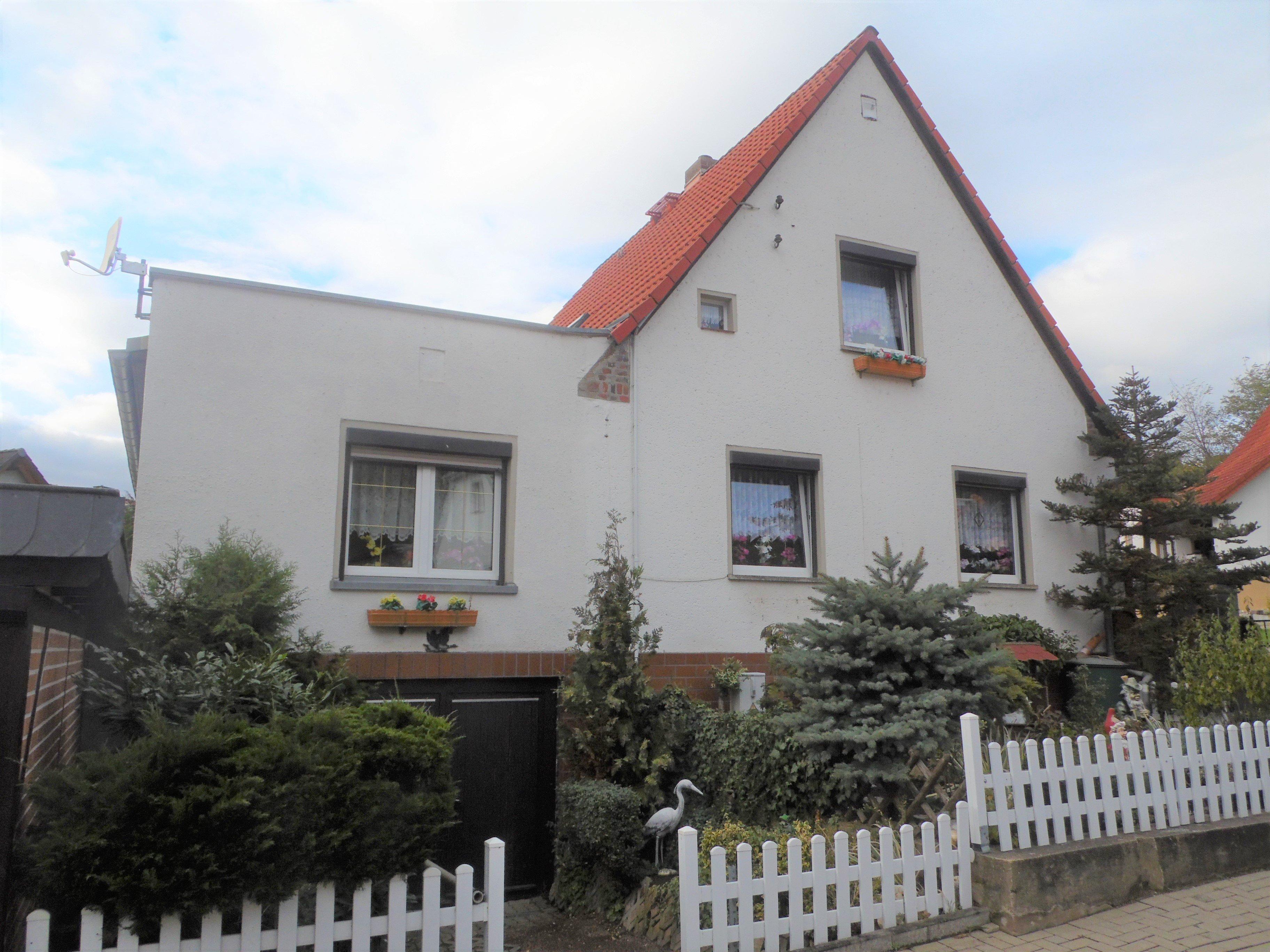 Einfamilienhaus Morl - Straßenansicht