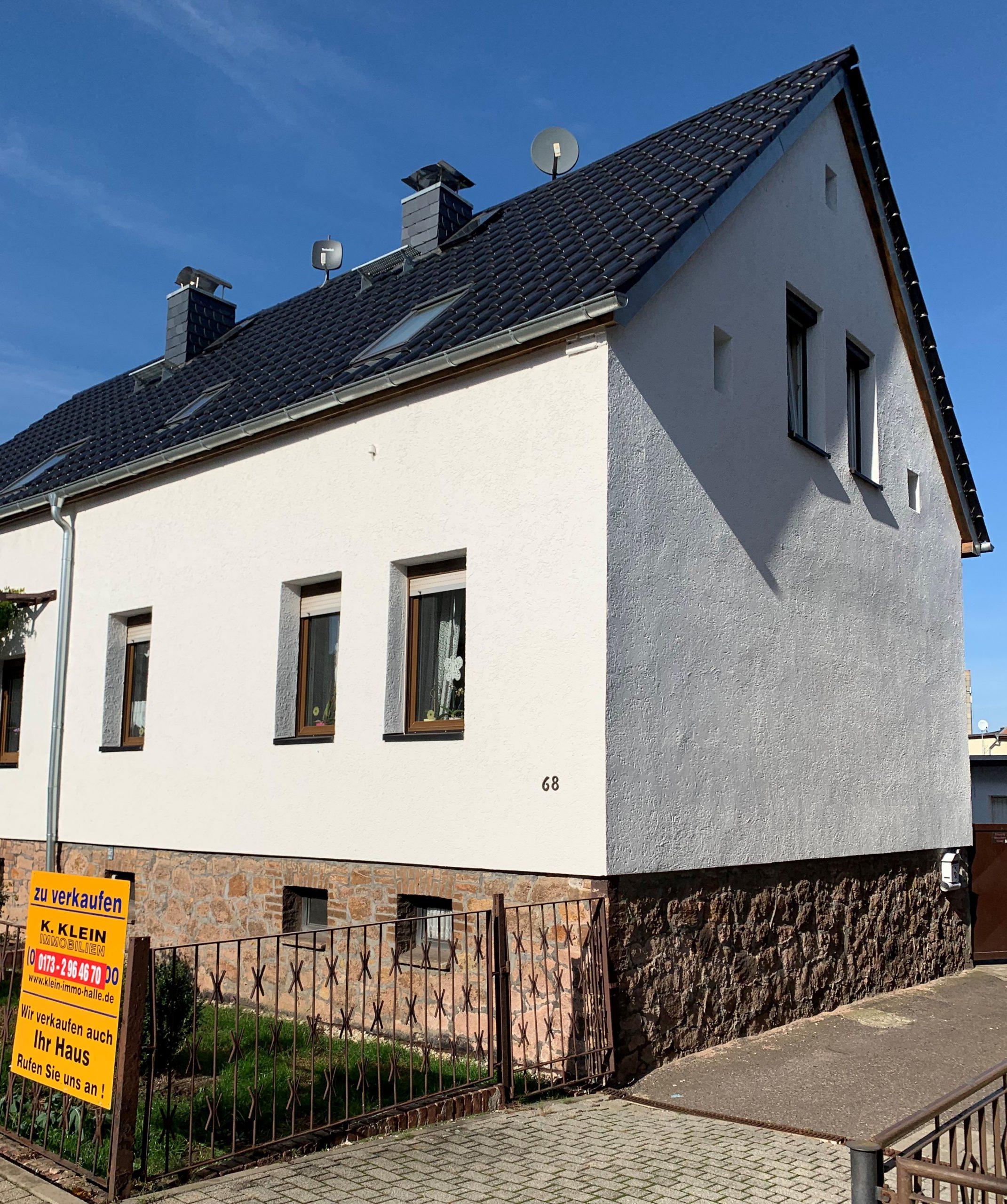 Einfamilienhaus Halle-Dölau - Straßenansicht