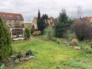Schollehaus - Blick in den Garten