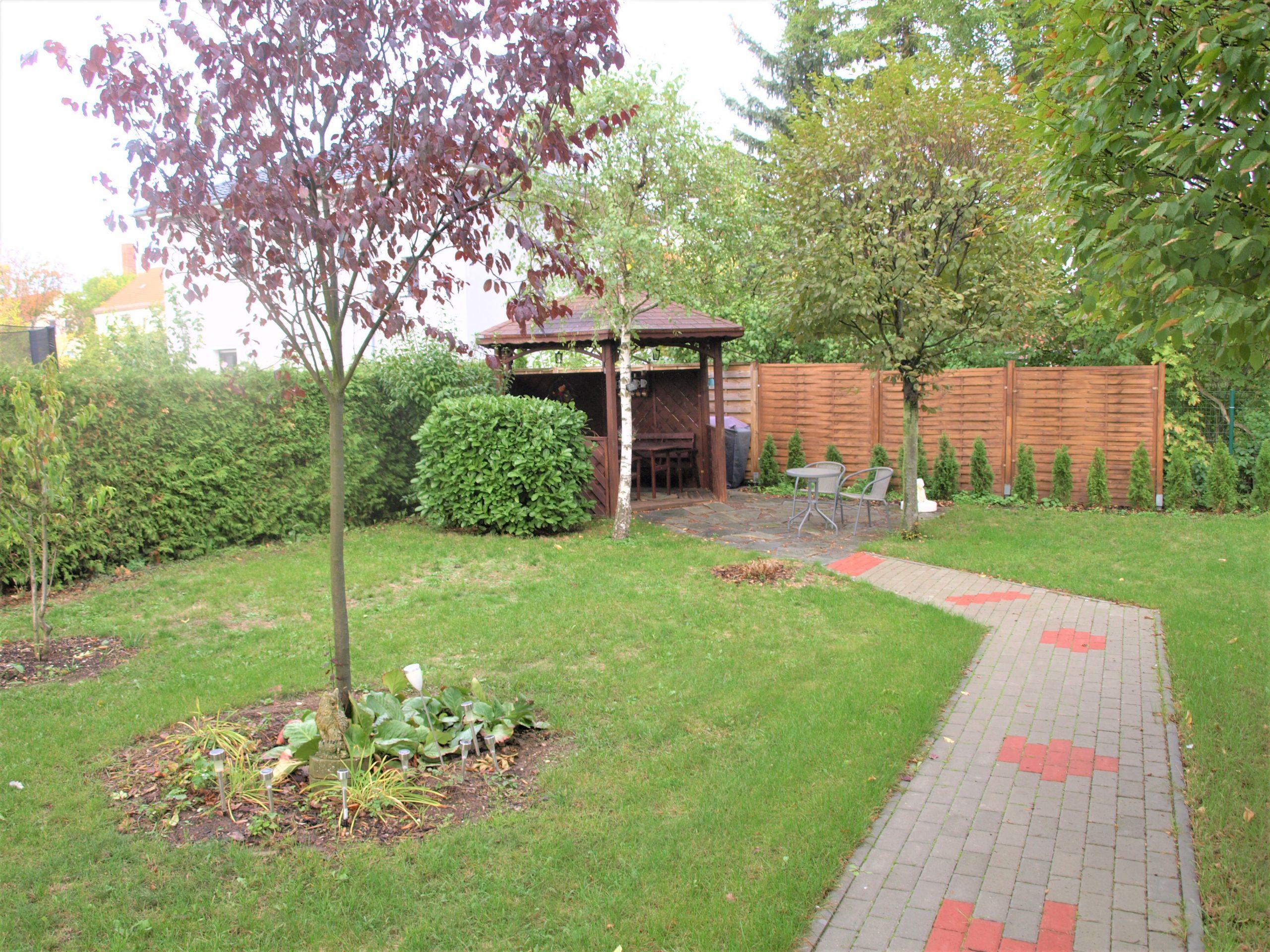 Einfamilienhaus Merseburg - Blick in den Garten