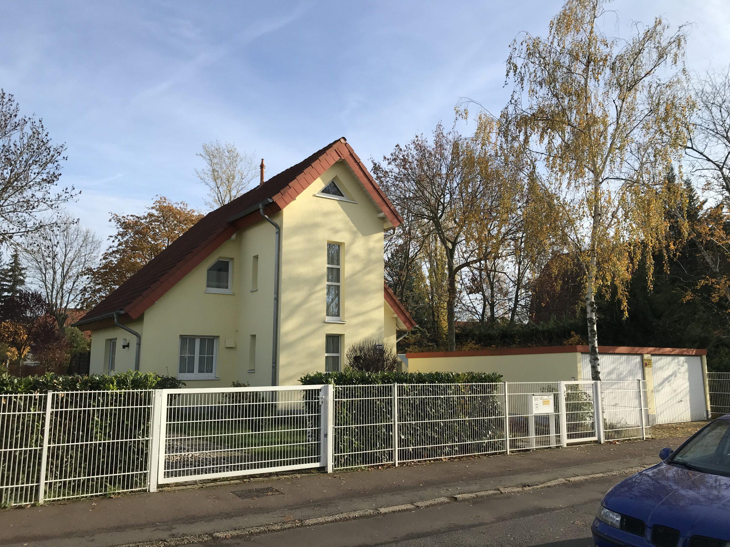 Einfamilienhaus Merseburg - Straßenansicht