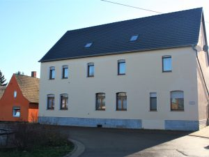 Bauernhaus+Einfamilienhaus Benndorf - Straßenansicht