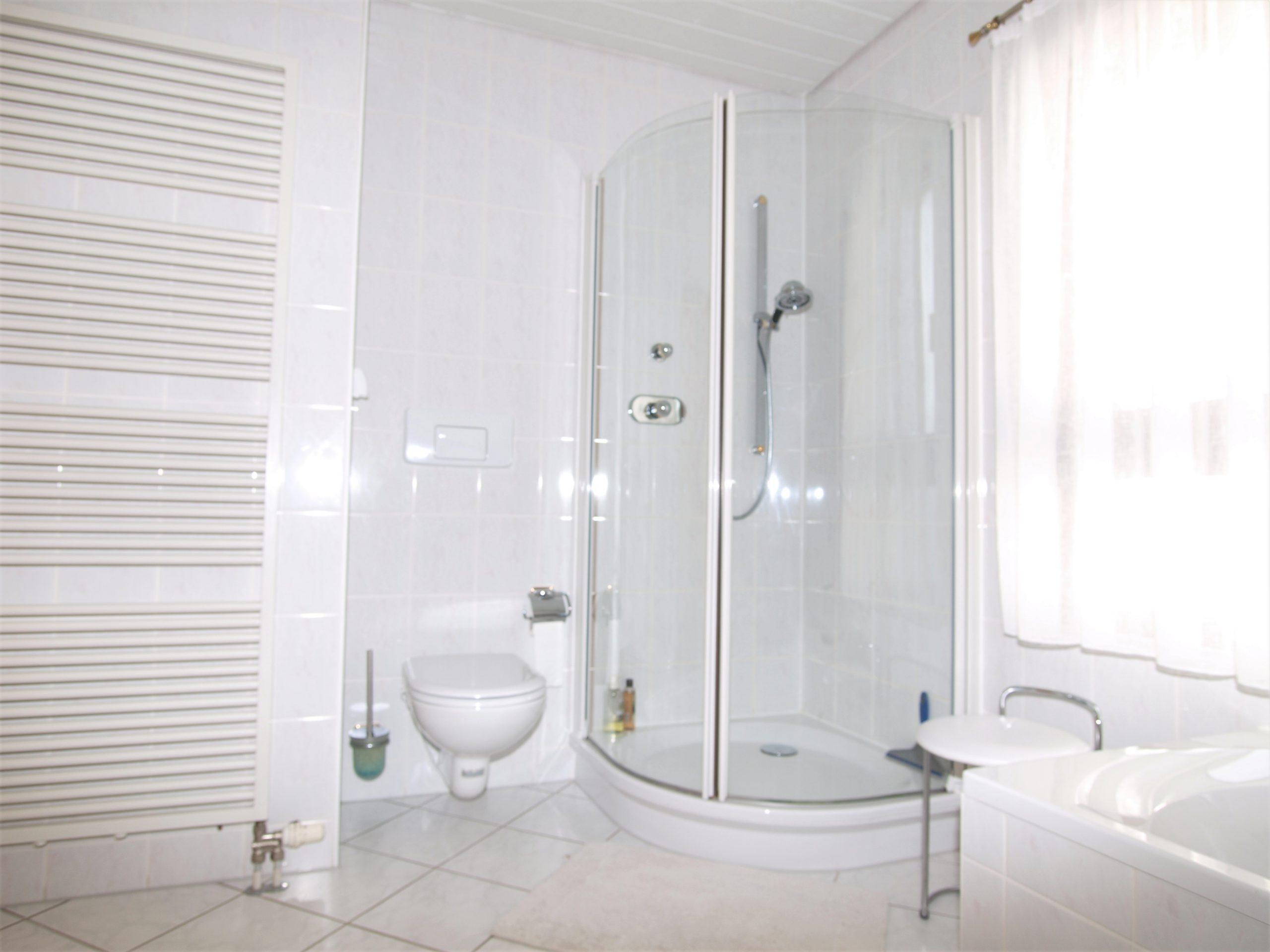 Einfamilienhaus Mötzlich - Dusch- und Wannenbad im Dachgeschoss