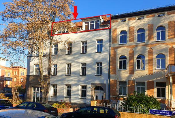 Dachgeschoßwohung Mühlwegviertel - Straßenansicht