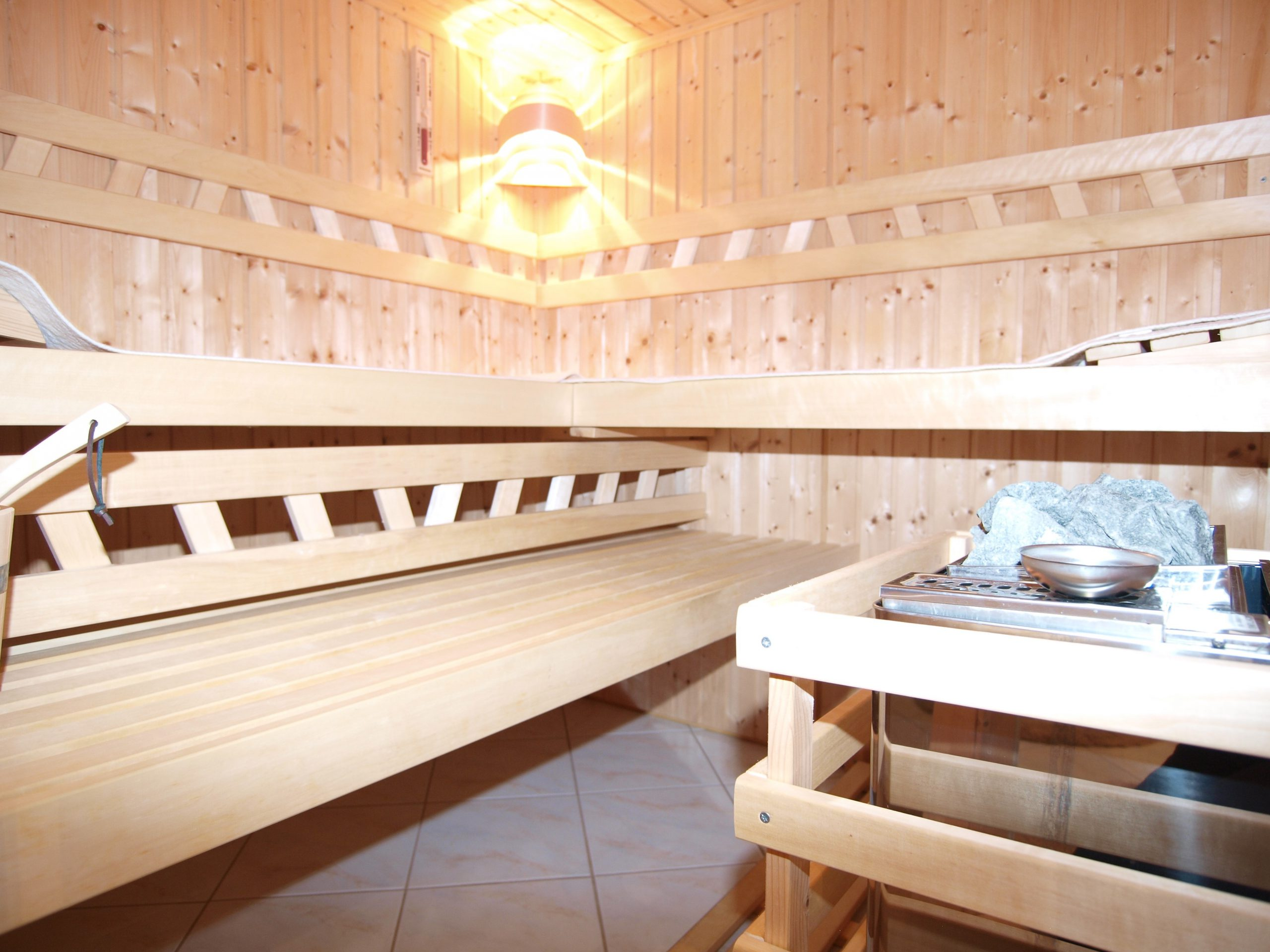 Einfamilienhaus Mötzlich - Sauna