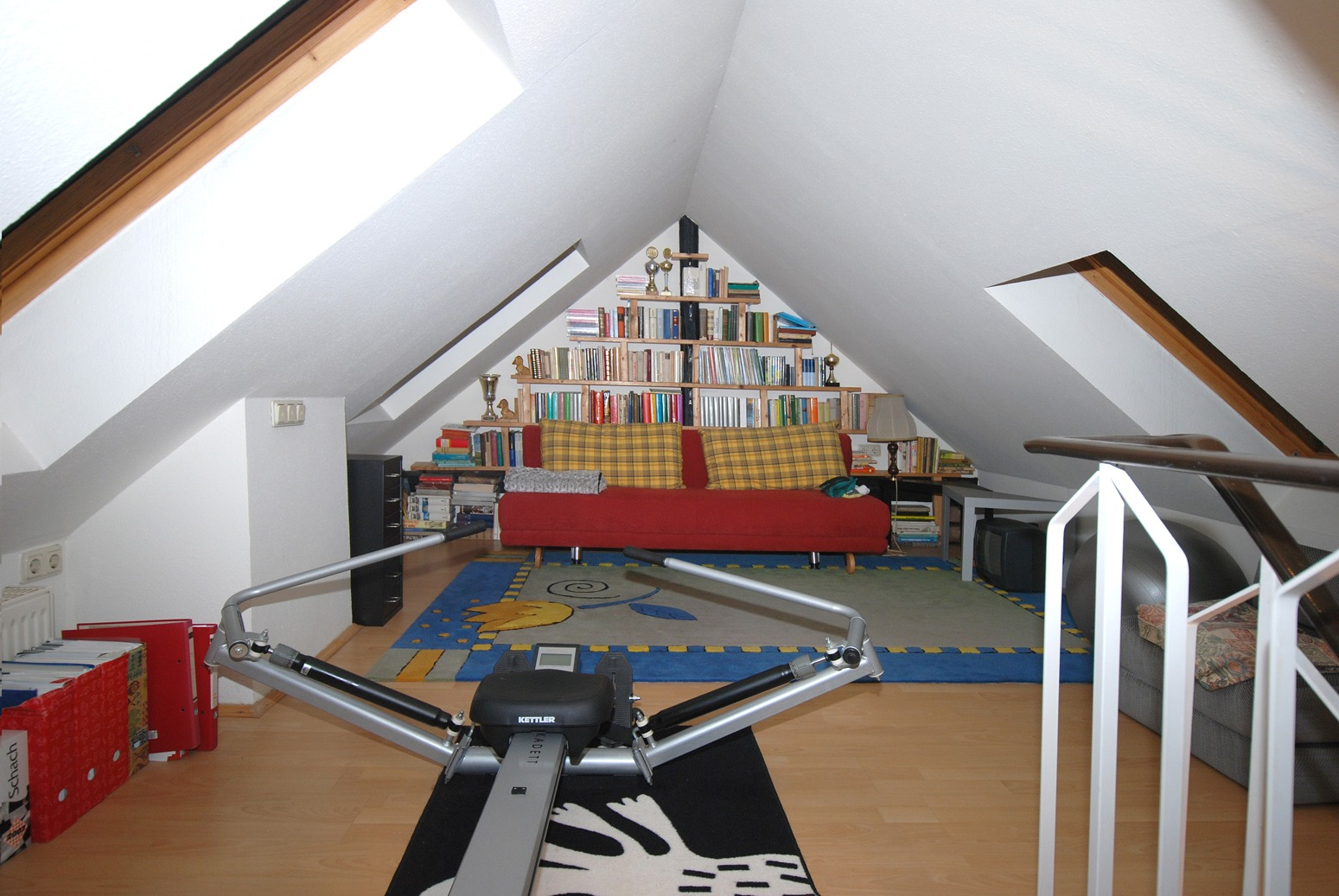 Dachgeschoßwohung Mühlwegviertel - Spitzboden Detail